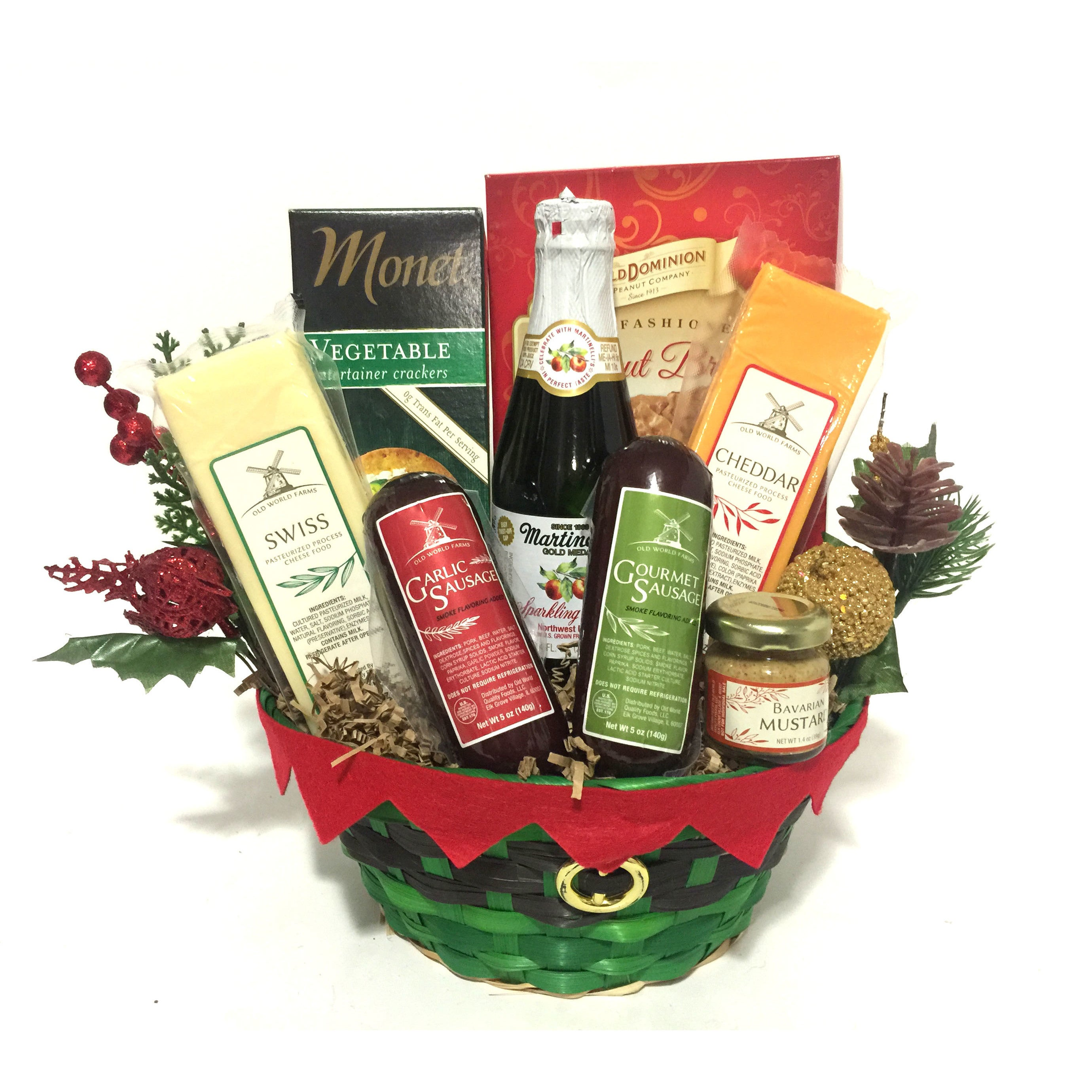 Shop Heartwarming Holiday Christmas Gift Basket - On Sale - Free ...