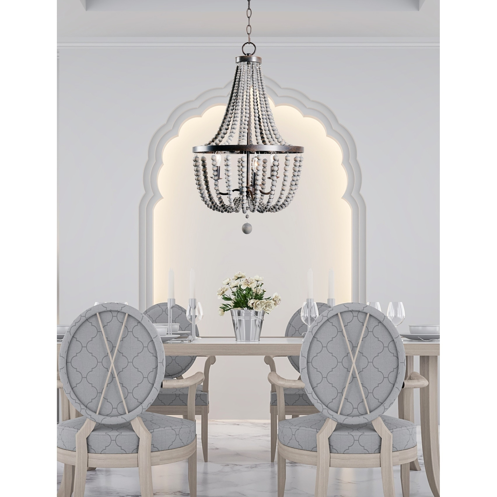 home img sarah cream bead chandelier white wood virginia products andrew regina