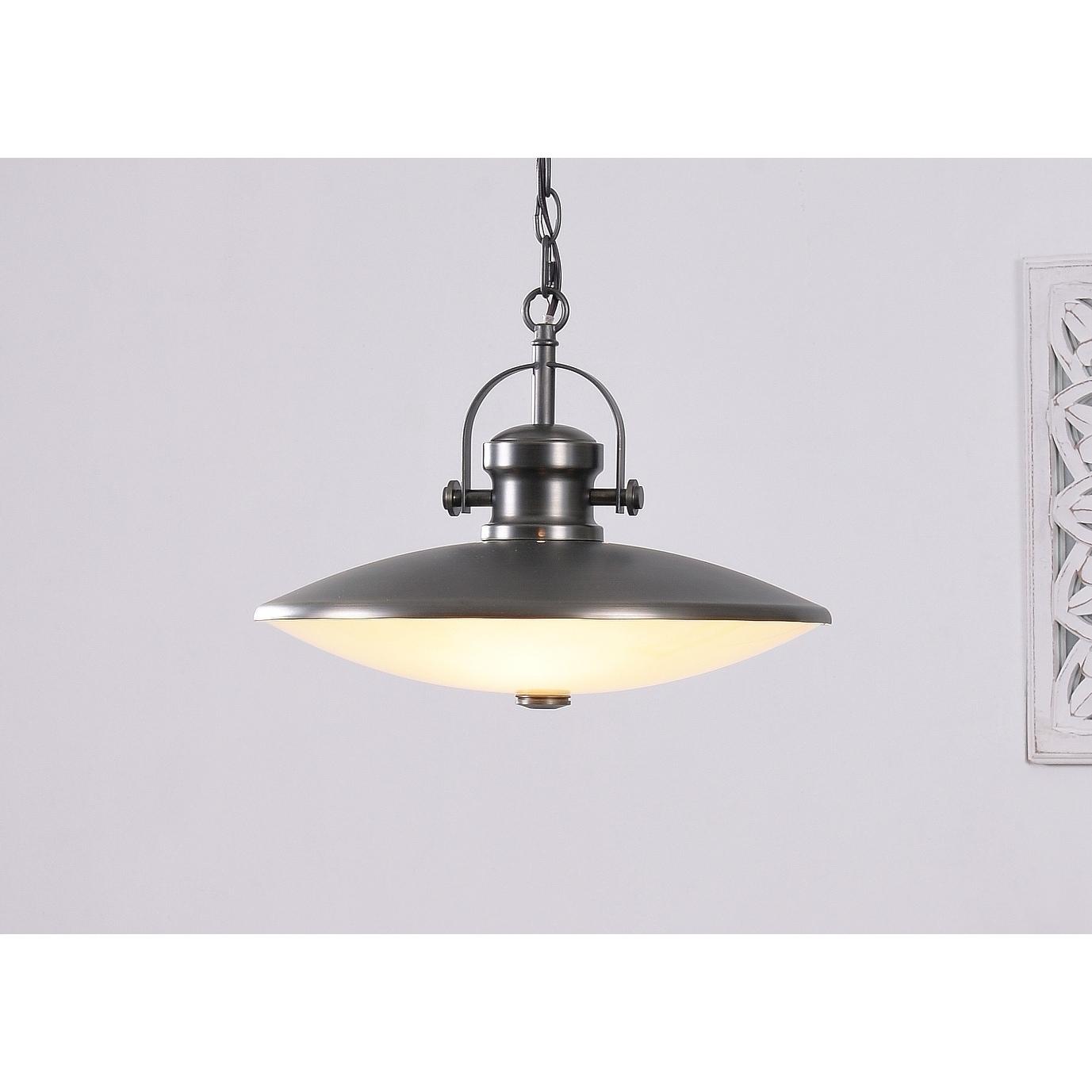 Shop tucson gunmetal 3 light pendant on sale free shipping today overstock com 18733220