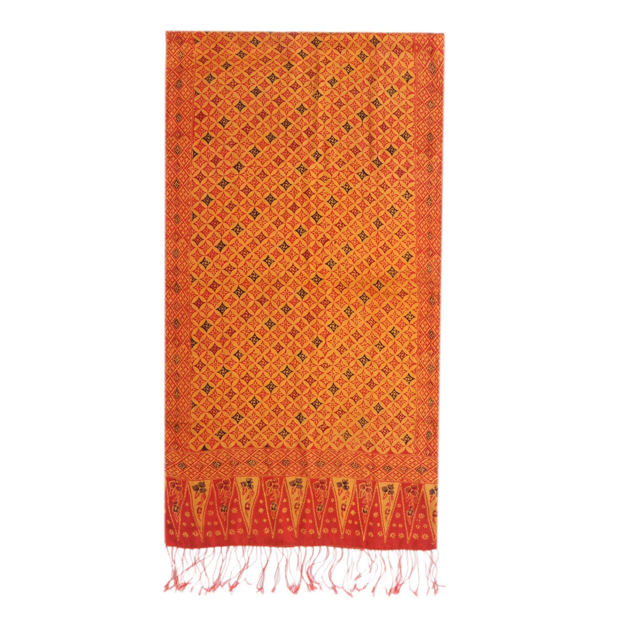 Promo Harga Fbw Sonia Flutted Sleeves Batik Piring Dress Red Orange Popustores Square Kawung Resort Shirt Mustard M Shop Handmade Silk Dimensions Of Shawl Indonesia On