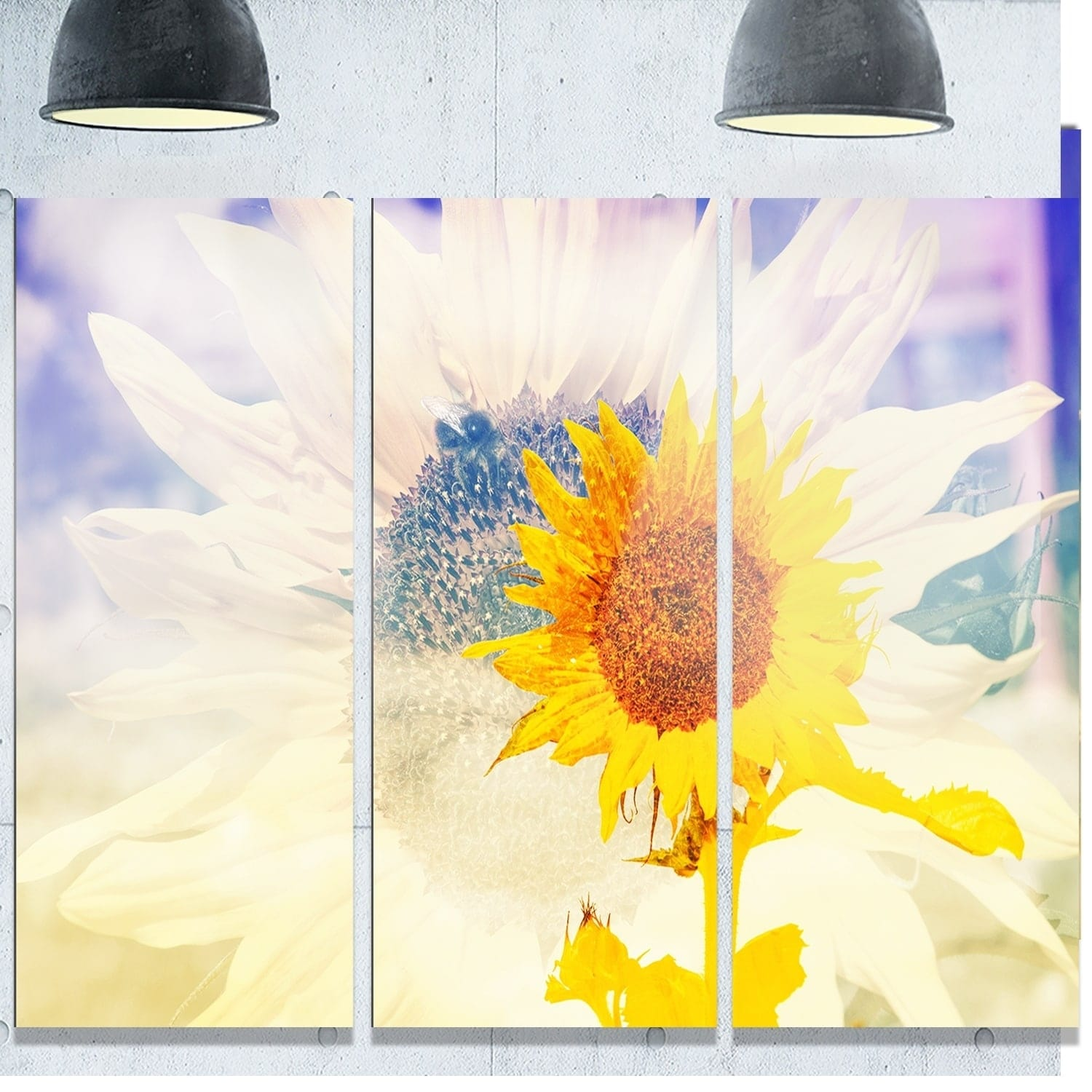 Unique Metal Sunflower Wall Art Elaboration - Wall Art Collections ...