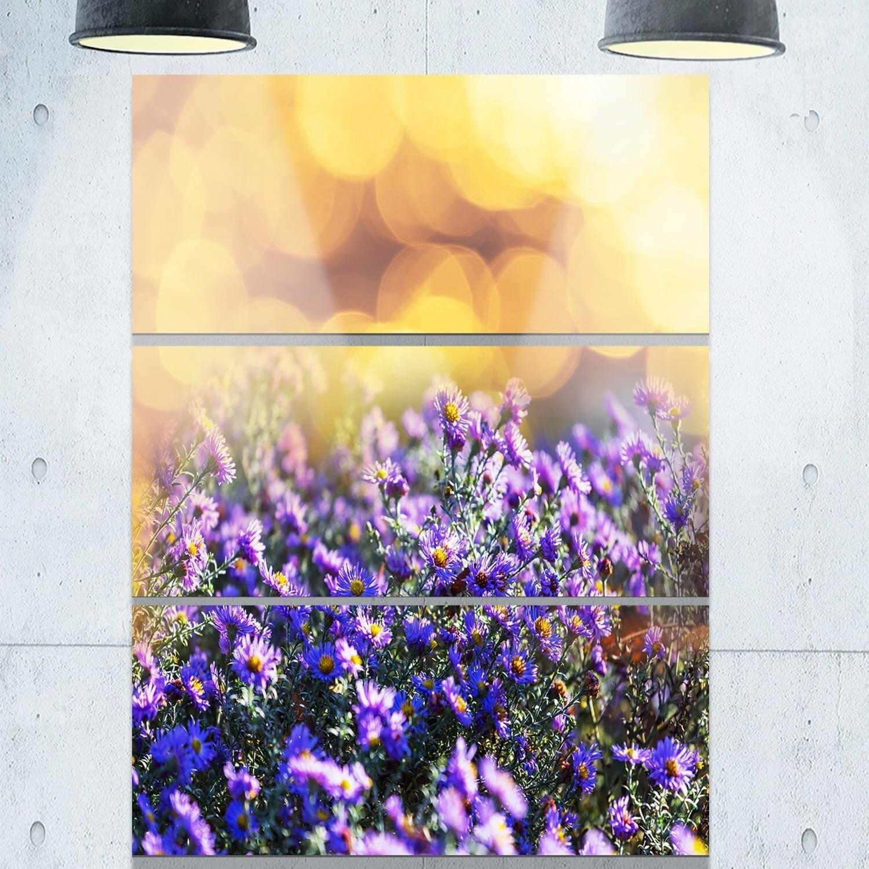 Contemporary Purple Metal Wall Art Frieze - Art & Wall Decor ...