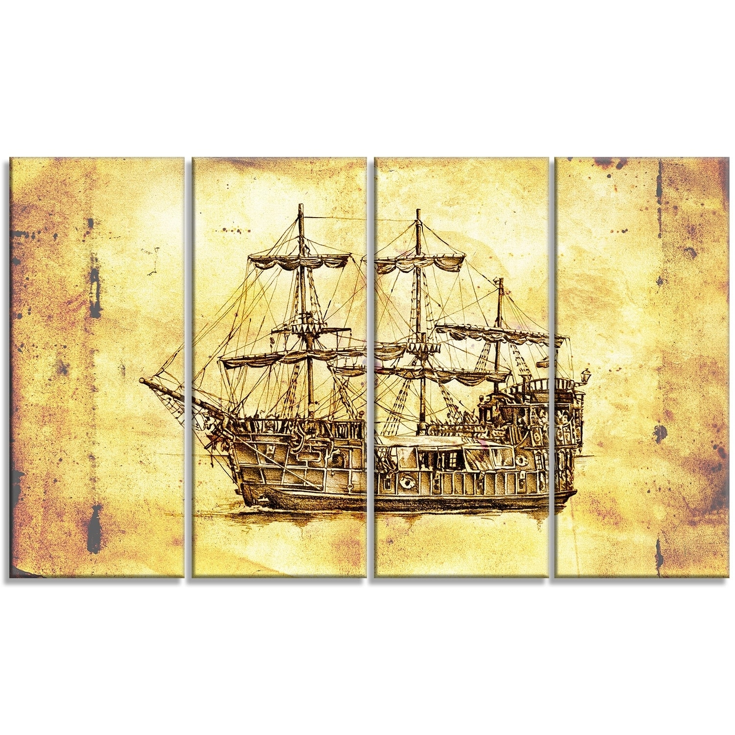 Famous Drifting Boats Wall Decor Ensign - All About Wallart ...