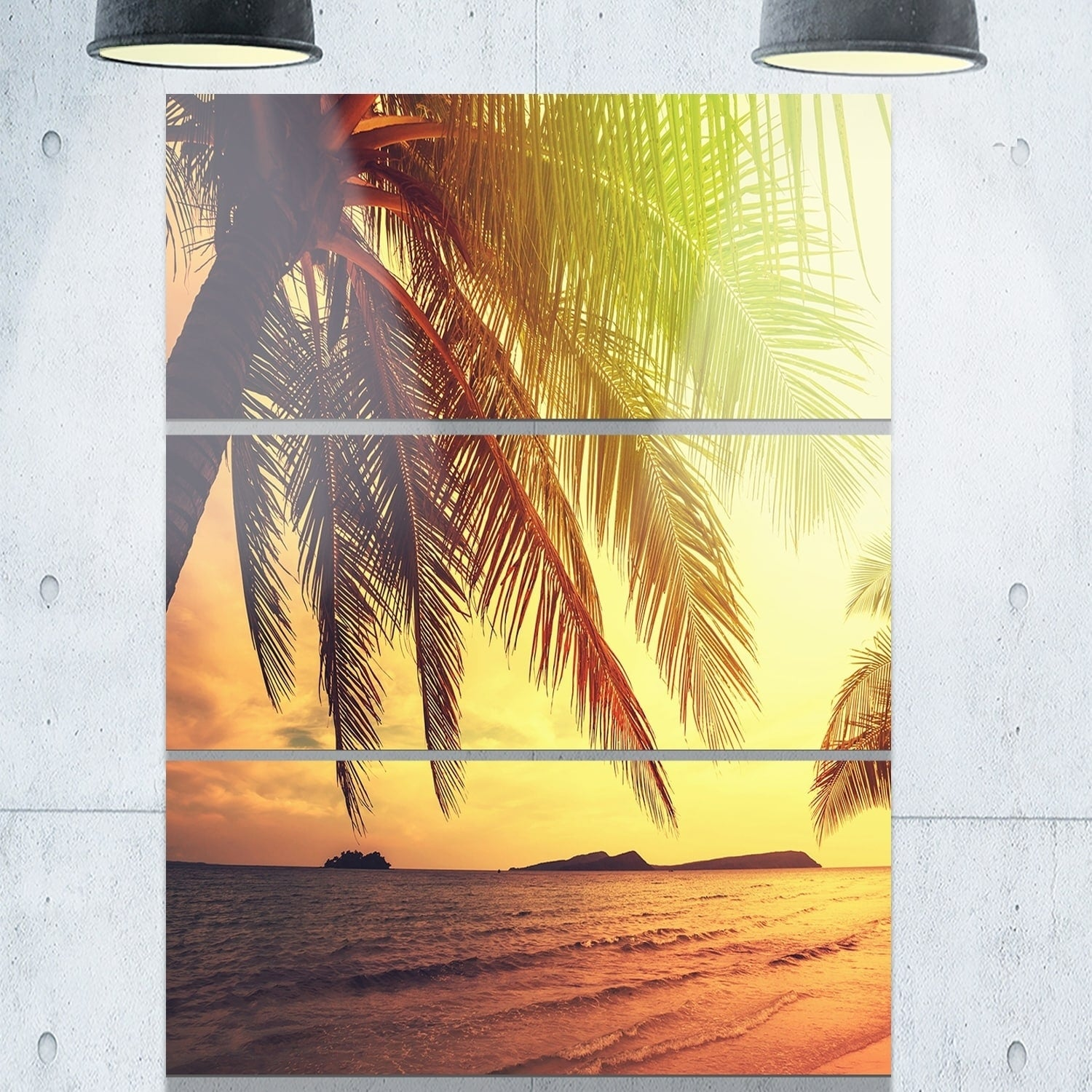 Beautiful Tropical Metal Wall Art Image Collection - The Wall Art ...