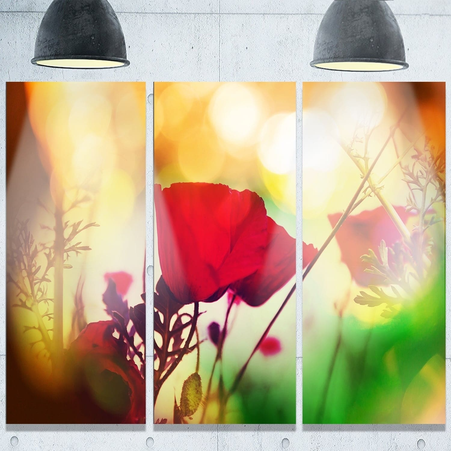 Cute Poppy Wall Art Metal Gallery - The Wall Art Decorations ...