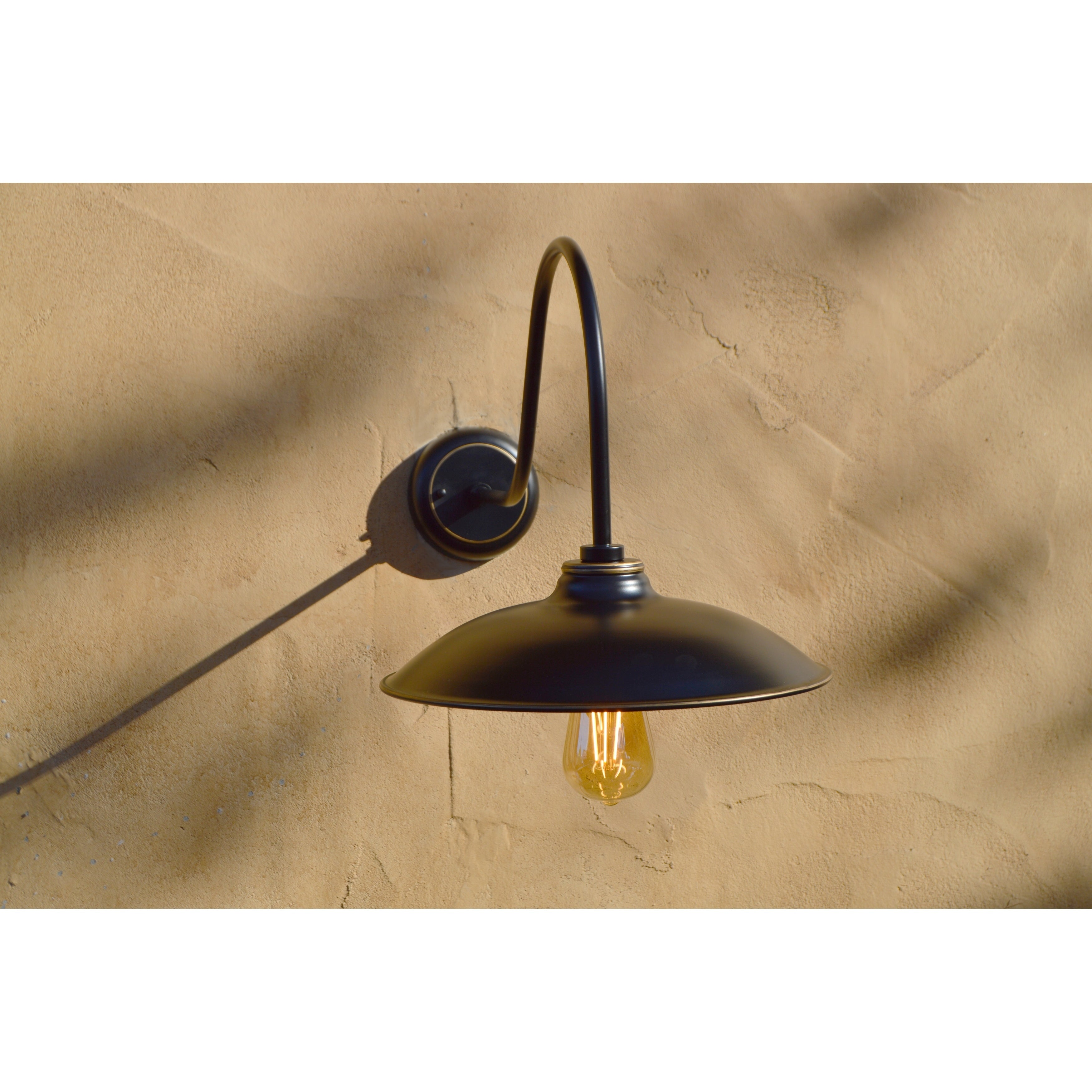 Fine Y Decor El0523ib Lora 1 Light Black Outdoor Wall Lighting ...