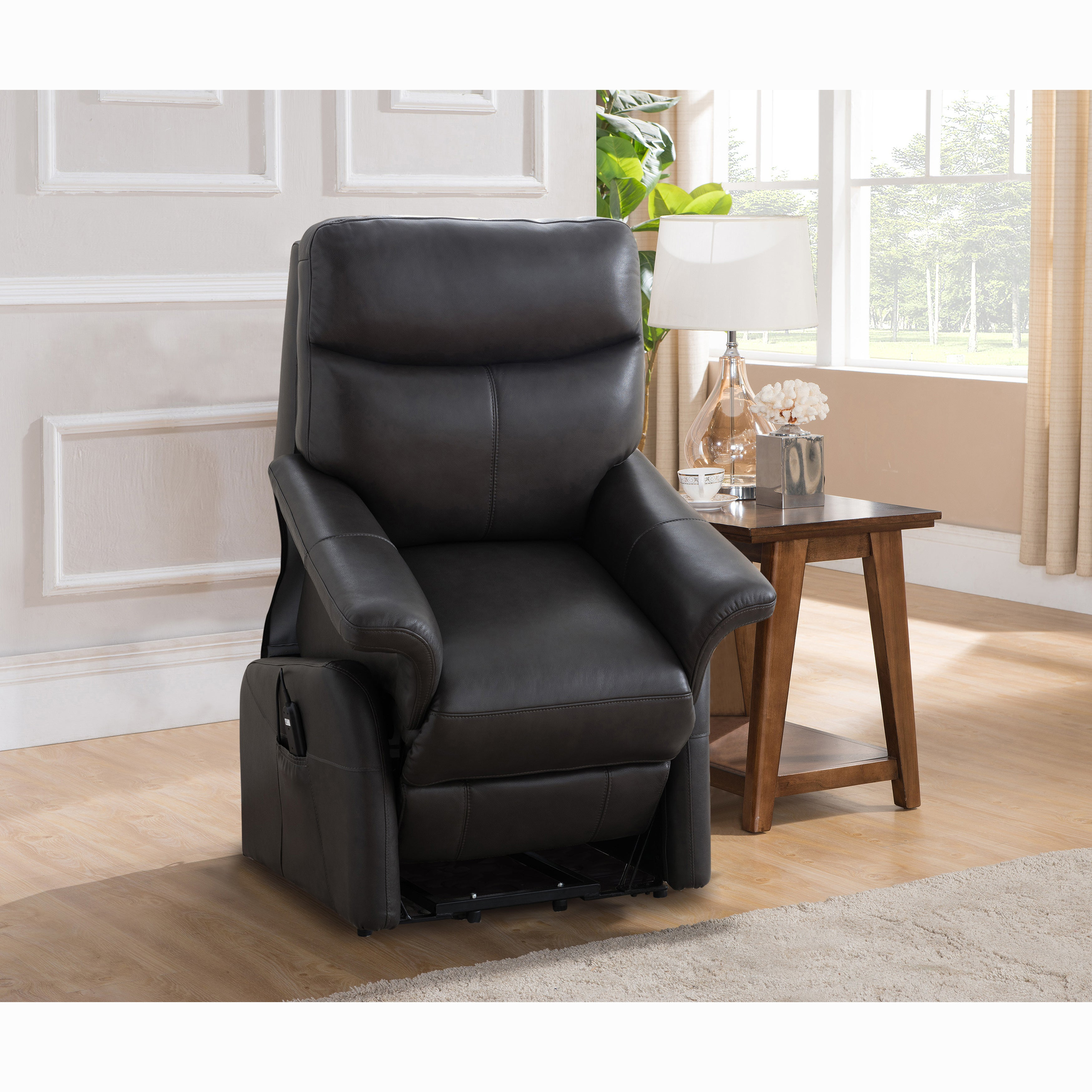 leather flat cool size recliner reclining chairs of black price lay chair list medium triple sofa lift