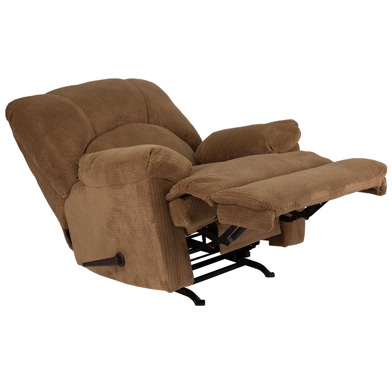 Flash Furniture Brown Microfiber Rocker Recliner Free Shipping Today 18755372