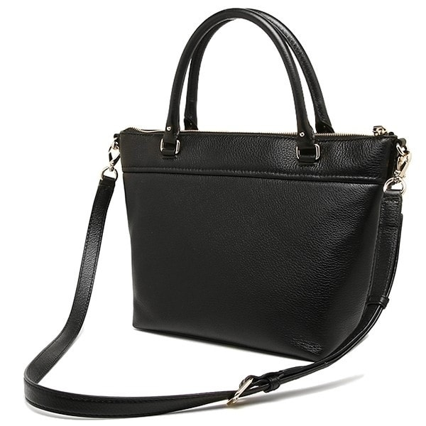 Shop Kate Spade New York Cobble Hill Small Gina Small Satchel Leather Black  - Free Shipping Today - Overstock - 18757345 99d82344d8f31