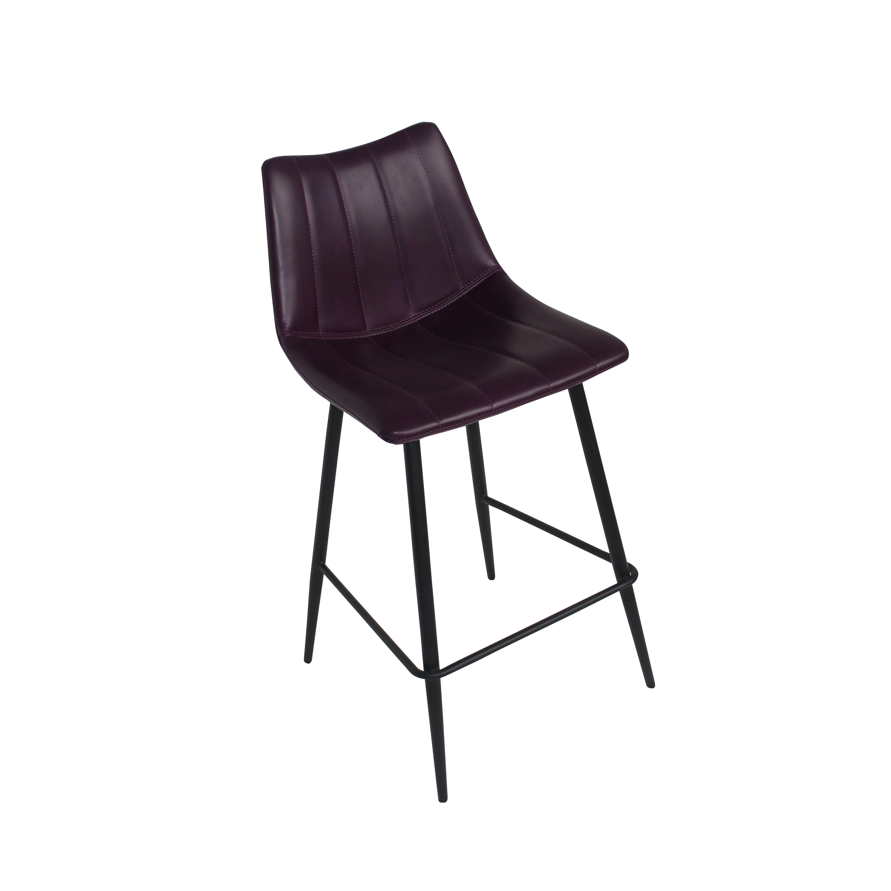 Shop aurelle home purple barstool set of 2 on sale free shipping today overstock com 18763163