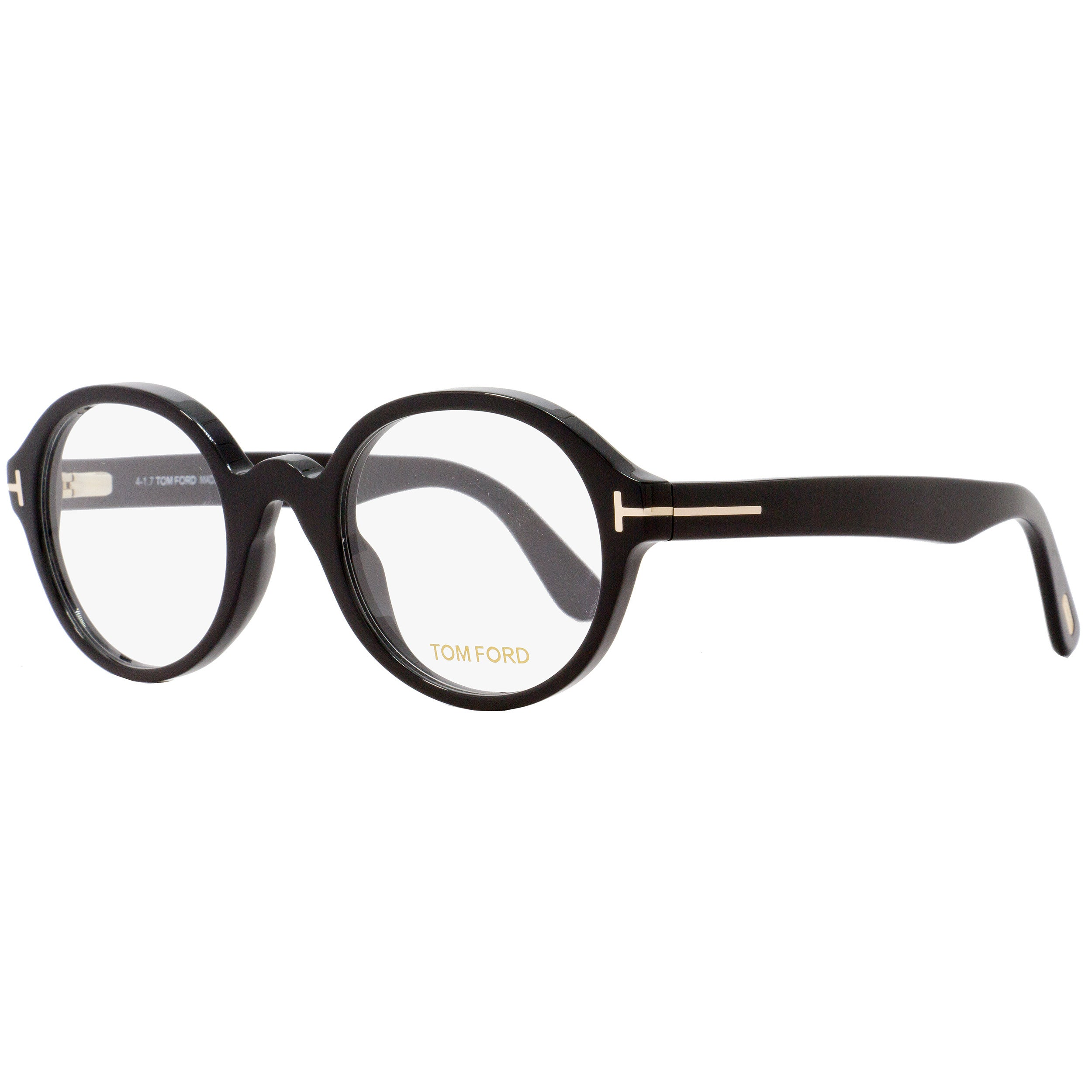 4a25f91be6b8 Shop Tom Ford TF5490 001 Unisex Black 51 mm Eyeglasses - Free Shipping  Today - Overstock - 18778826