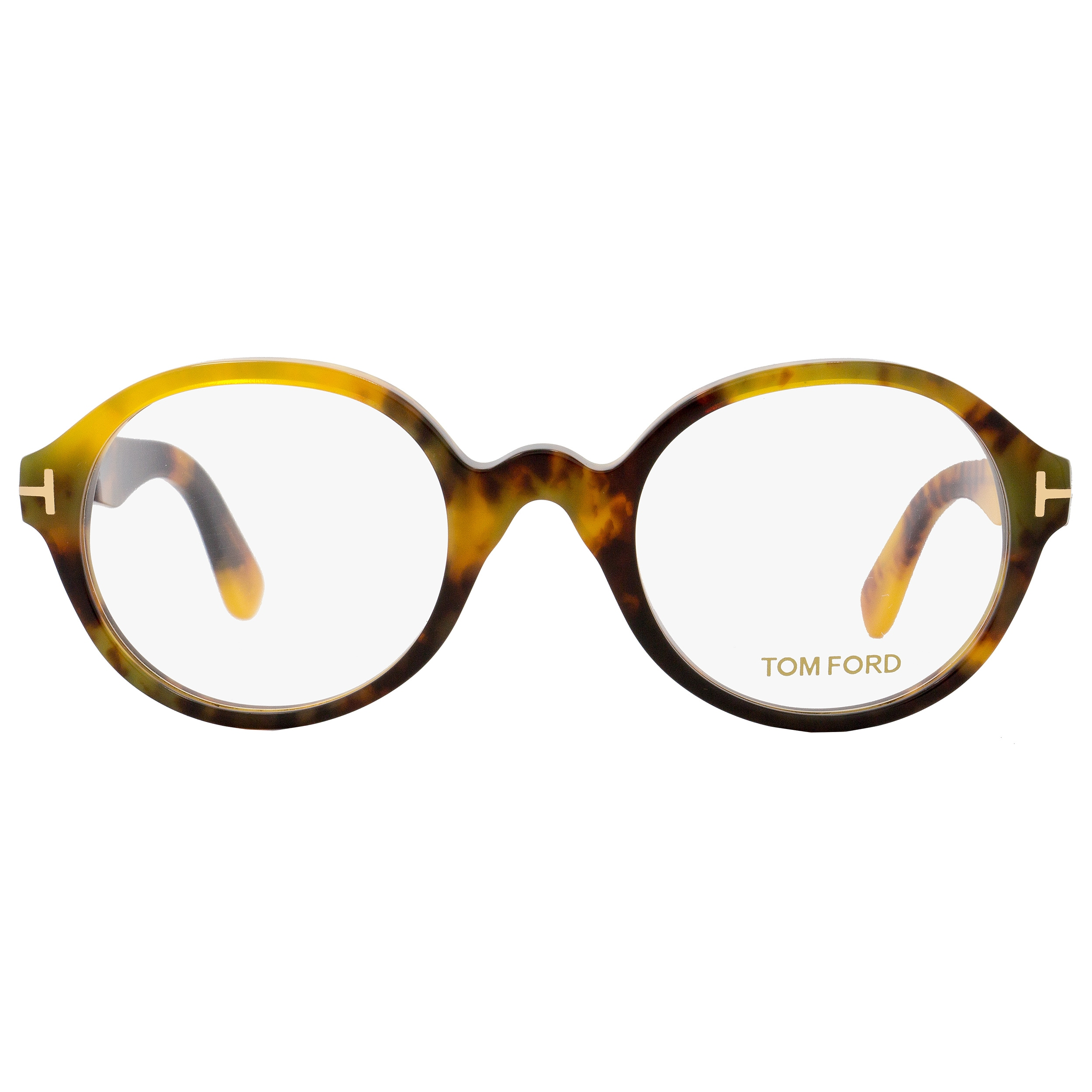 5aced4ca653b Shop Tom Ford TF5490 056 Unisex Honey Havana 51 mm Eyeglasses - Free  Shipping Today - Overstock - 18778828