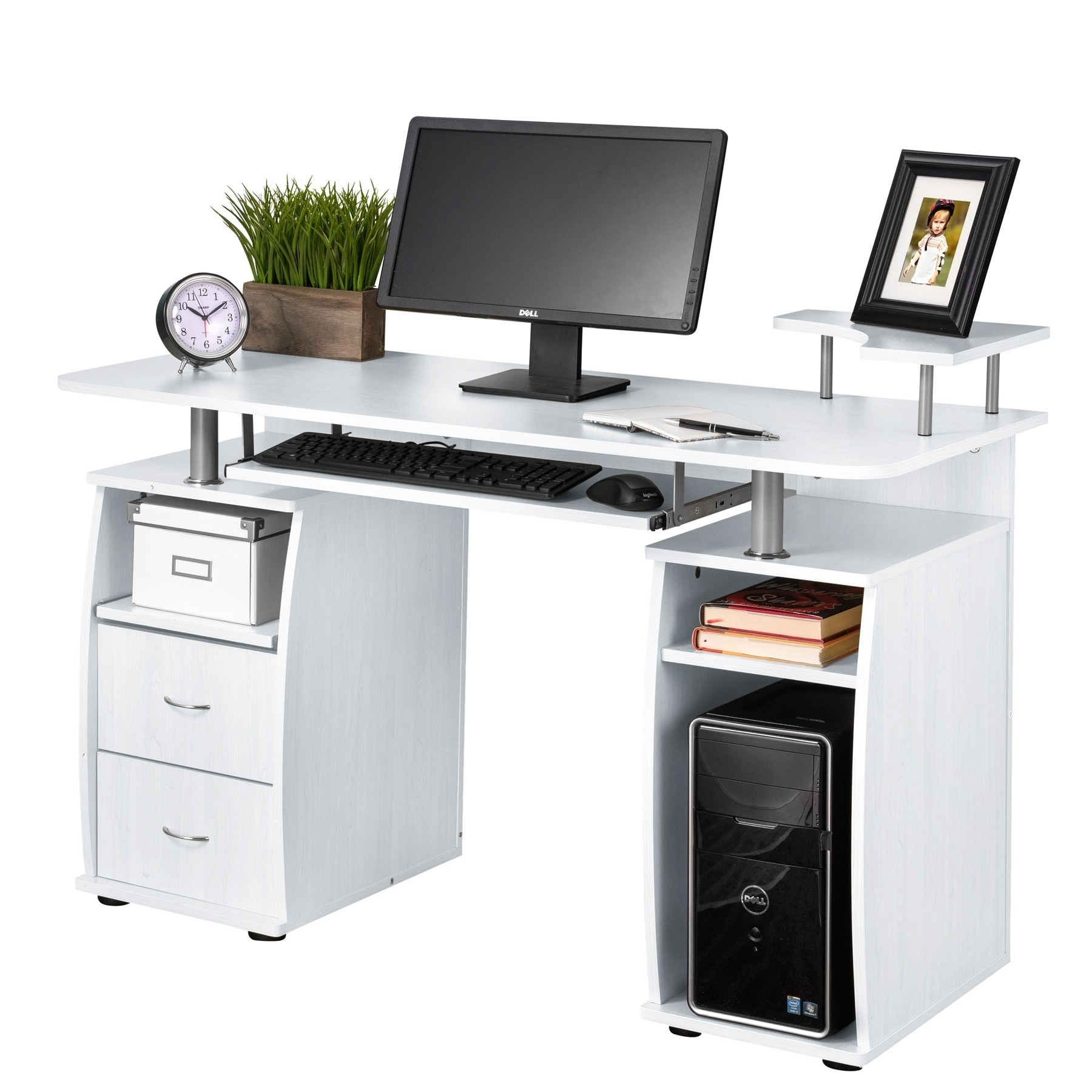Shop Fineboard Home Office Computer Desk - Free Shipping Today ...