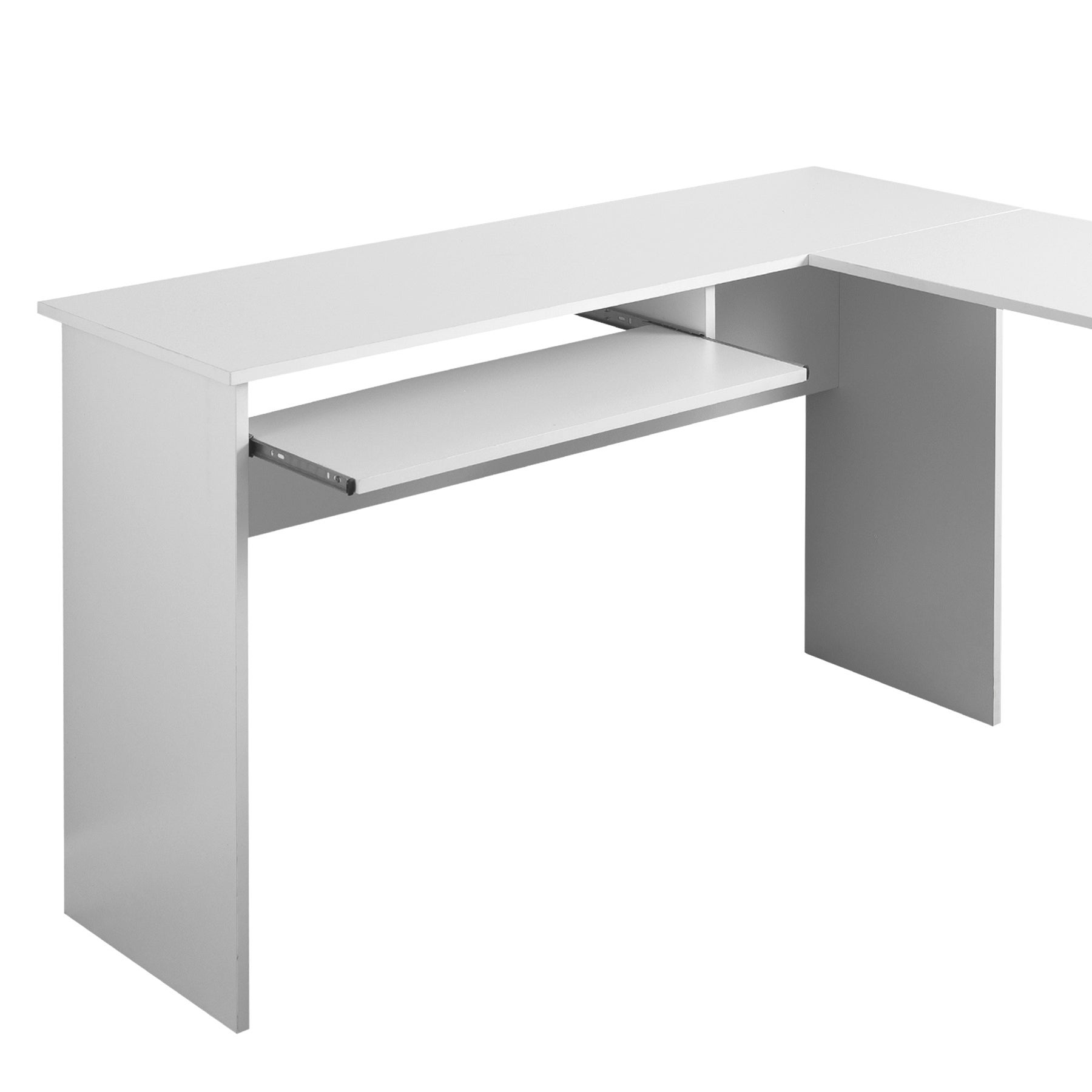 white office corner desk. Fineboard L-shaped Office Corner Desk With 2 Side Shelves - Free Shipping Today Overstock 24849095 White