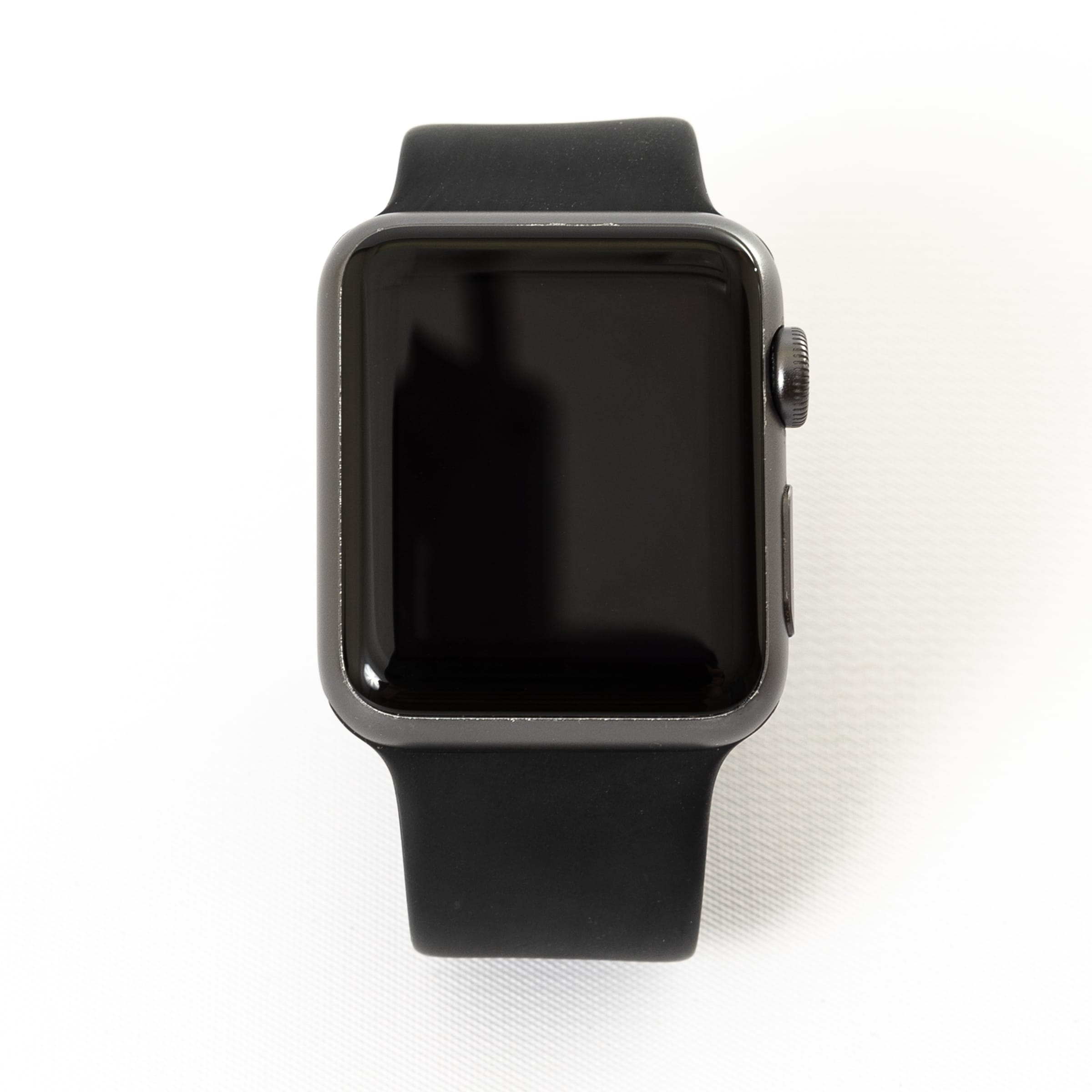 b93784ba0741b Apple Watch MP032LL/A Series 1 42MM Space Gray Aluminum Case/Black Sport  Band - Refurbished by Overstock
