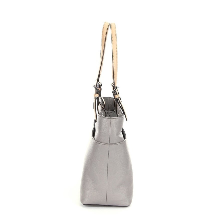 75a4952e2fc0 ... leather shoulder bag quarry grey e9c74 320c2; coupon for shop michael  michael kors bedford pocket tote pearl grey free shipping today overstock  18796159