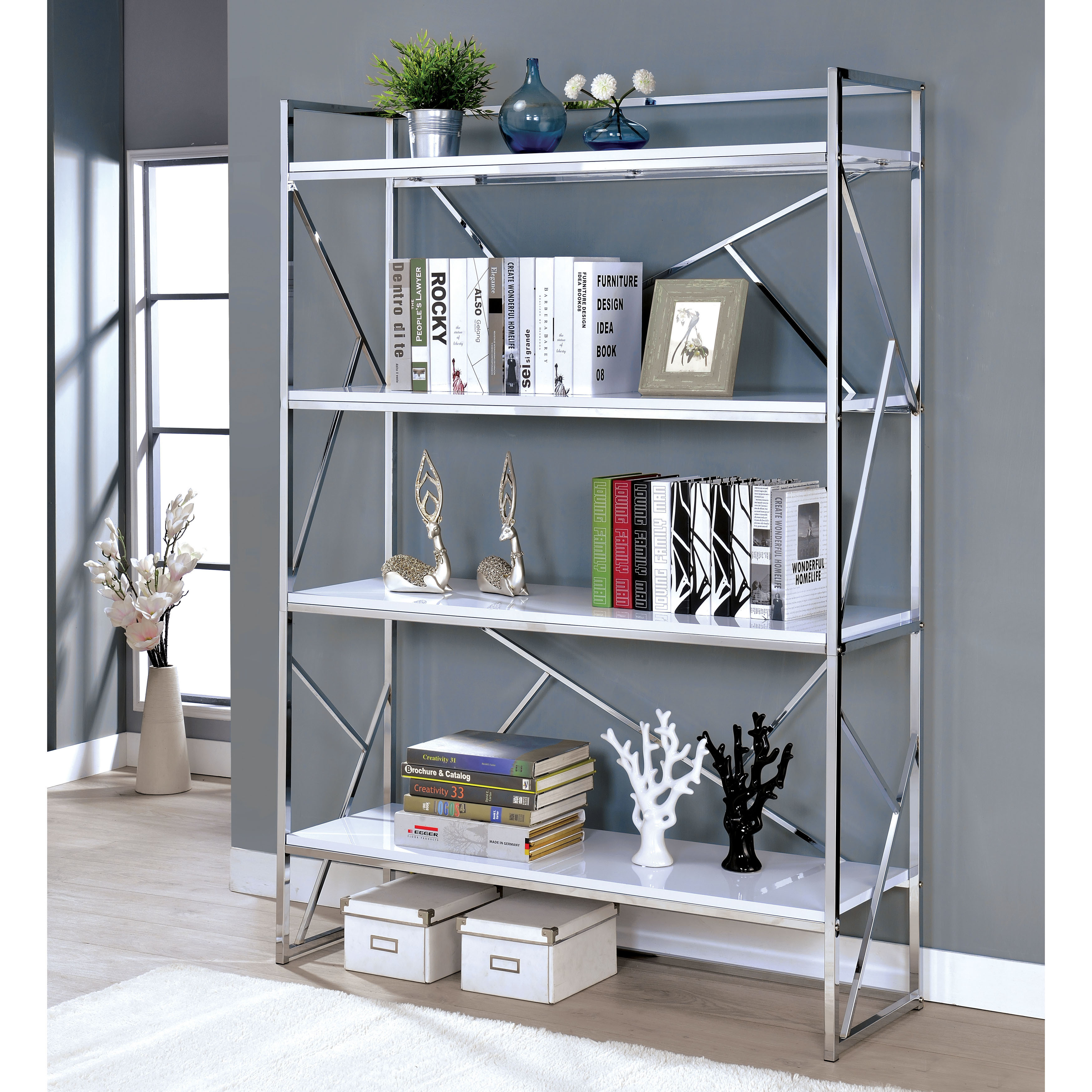 white office smart bookshelf bookcase wall with along photo decorating chrome furniture shelves childrens for home enticing captivating kids and mounted bar best bookshelves dollhouse ideas