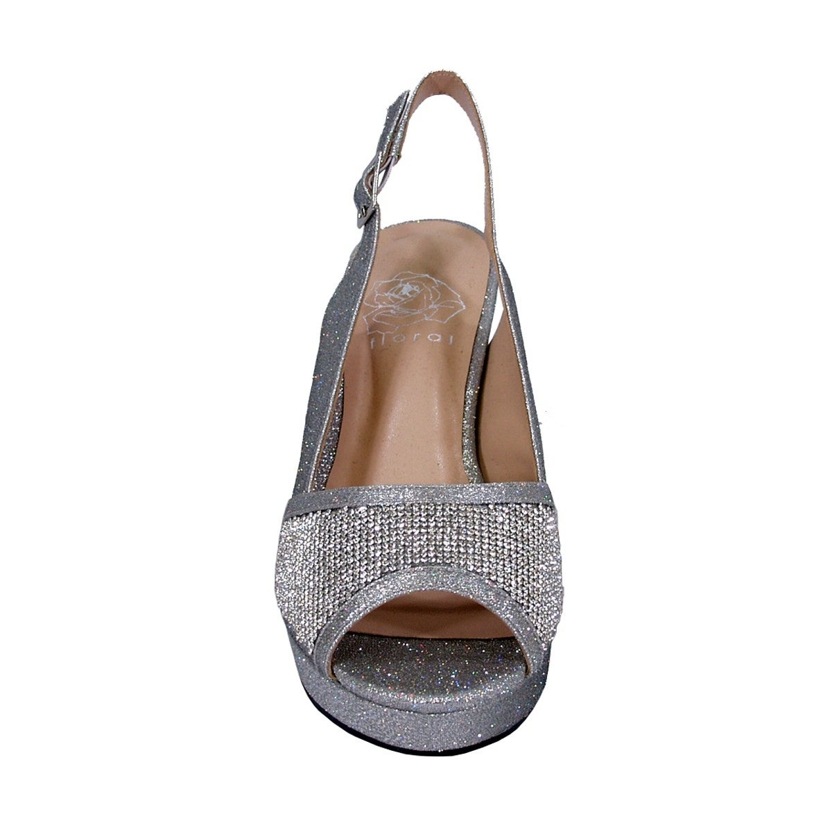 5a3f9c16d495 Shop FLORAL Nadia Women Extra Wide Width Rhinestones Platform Slingback -  Free Shipping Today - Overstock - 18803266