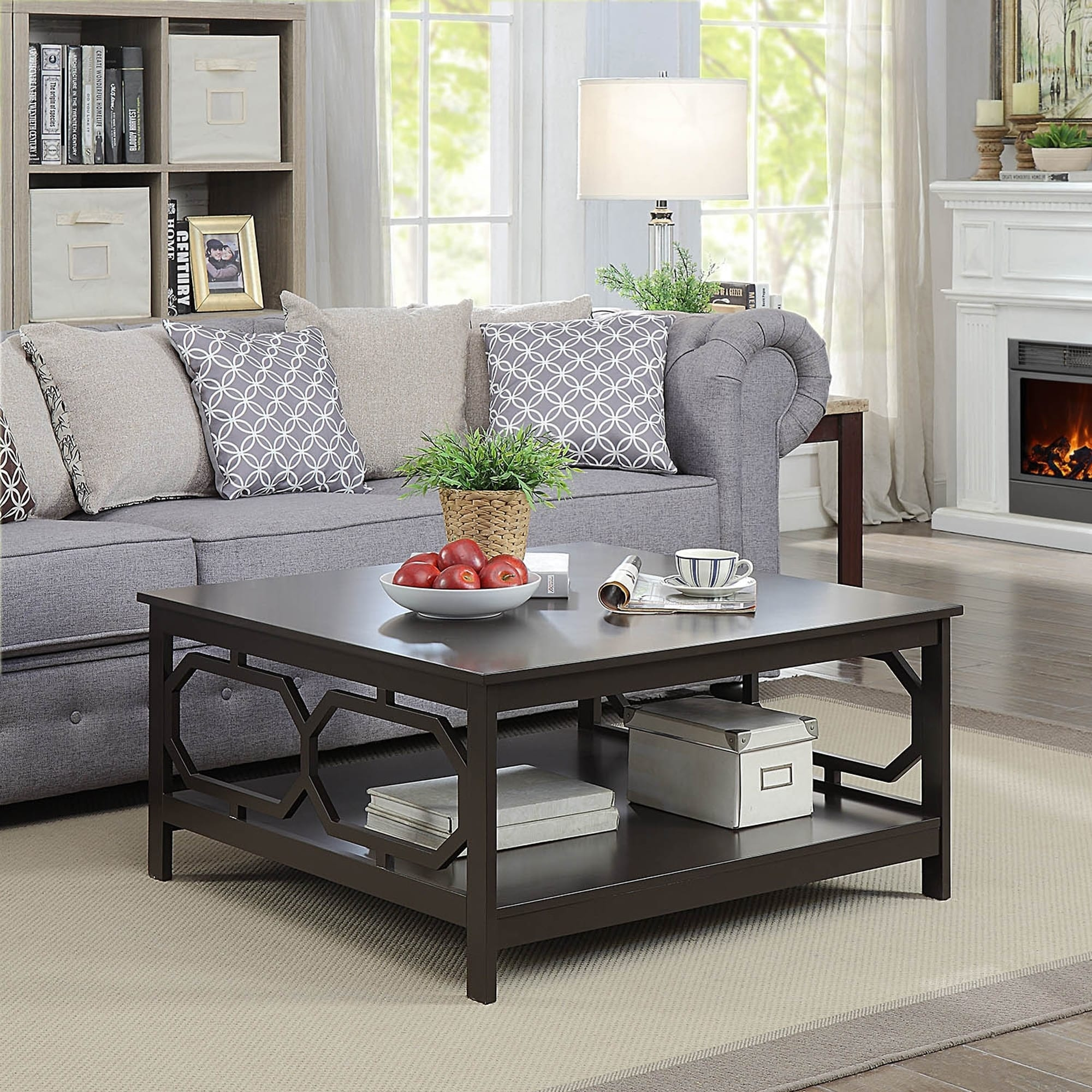 Convenience Concepts Omega Square 36 Coffee Table On Free Shipping Today 18803932