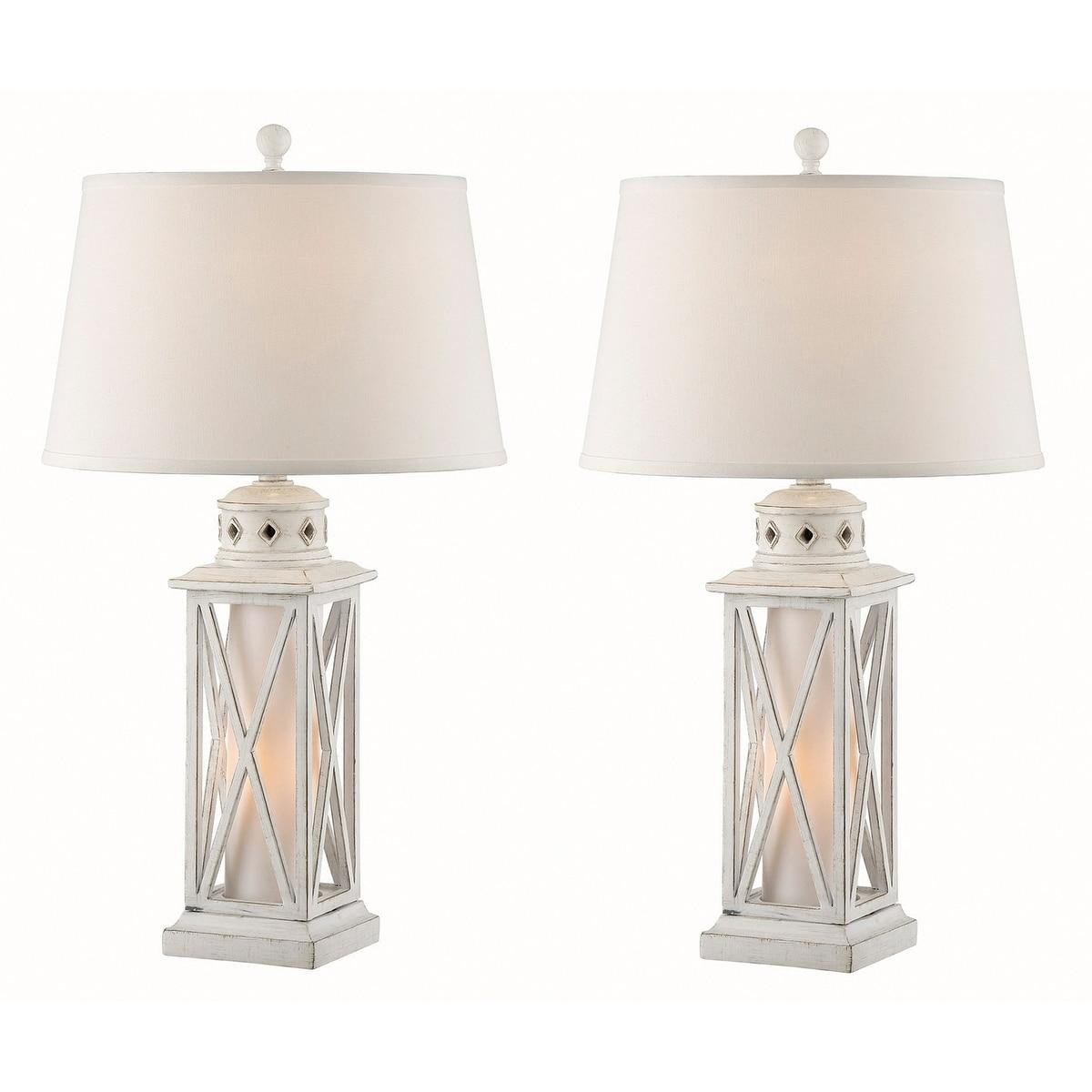 Shop Seahaven Galveston Island Lantern Night Light Table Lamp 30 5