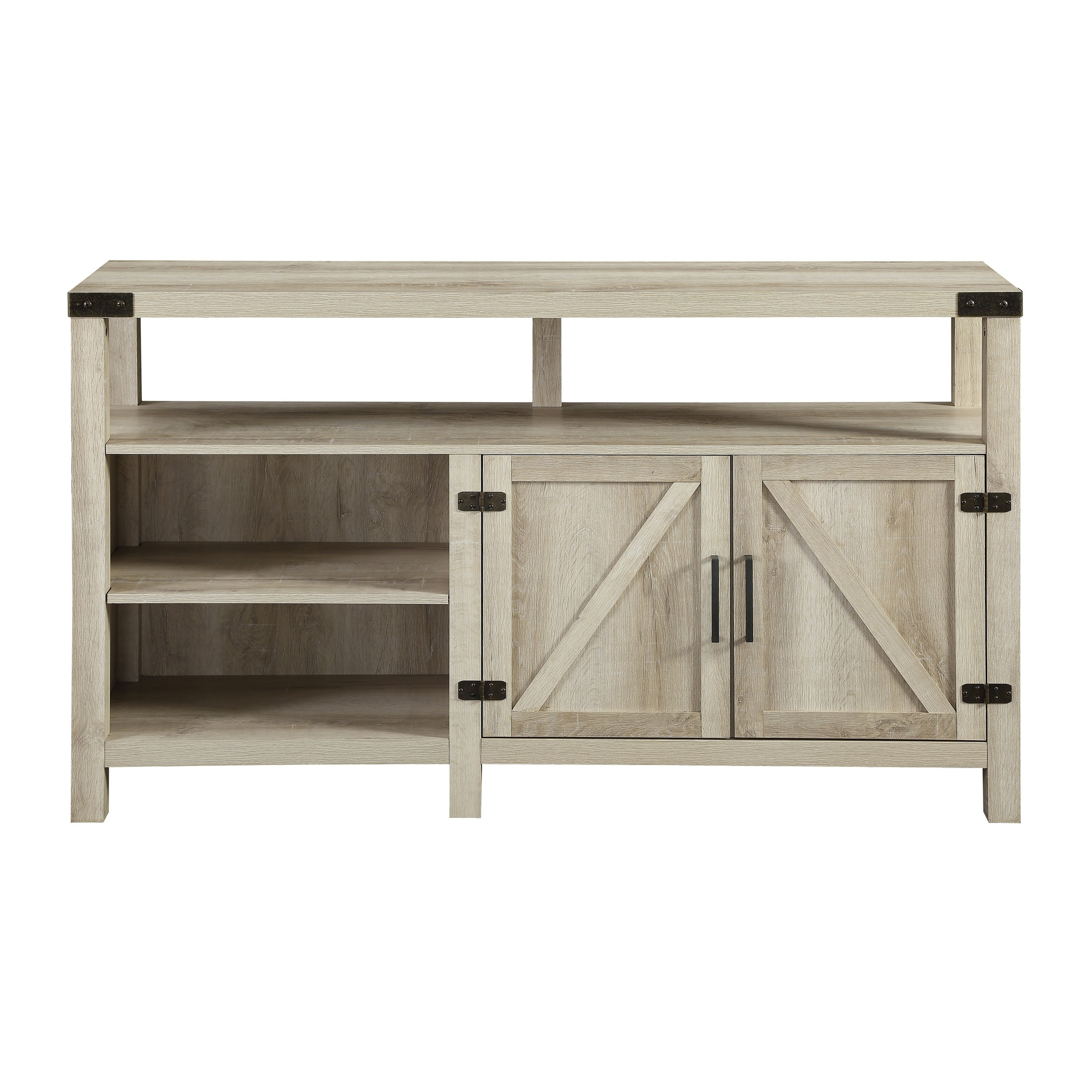 Shop 58 Inch Barndoor Highboy TV Stand Media Console   On Sale   Free  Shipping Today   Overstock.com   22801545