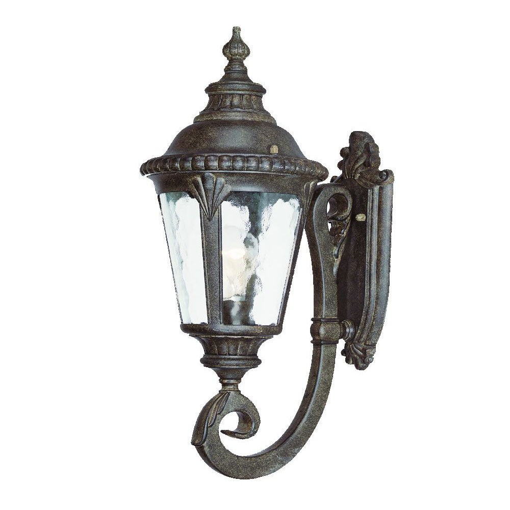 Shop Acclaim Lighting Surrey Collection 1 Light Outdoor Black Coral