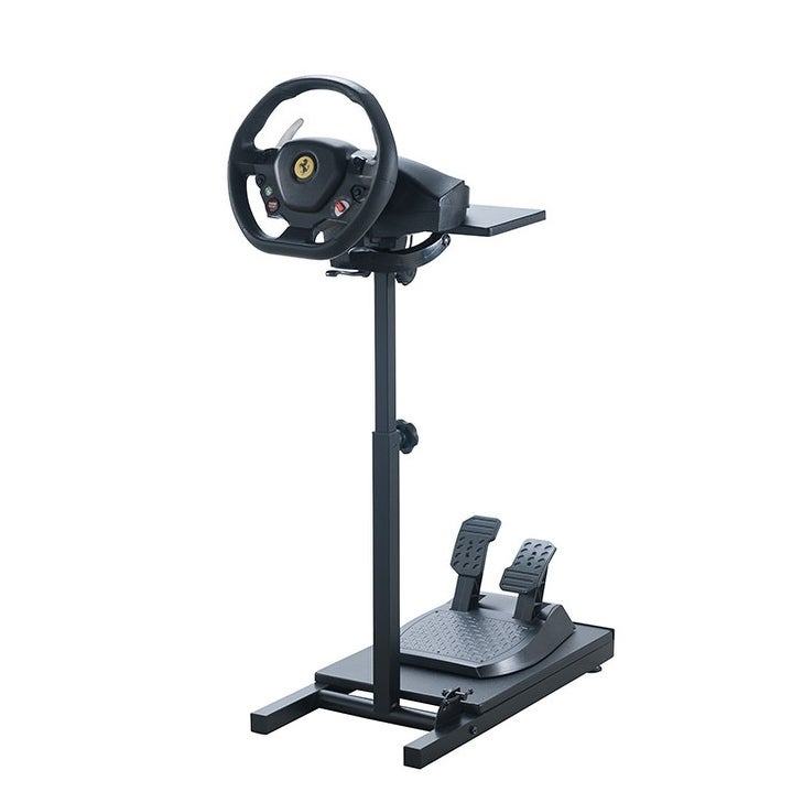 Pro Racer Steering Wheel Stand for use with Thrustmaster, XBox One,  Logitech, PS4