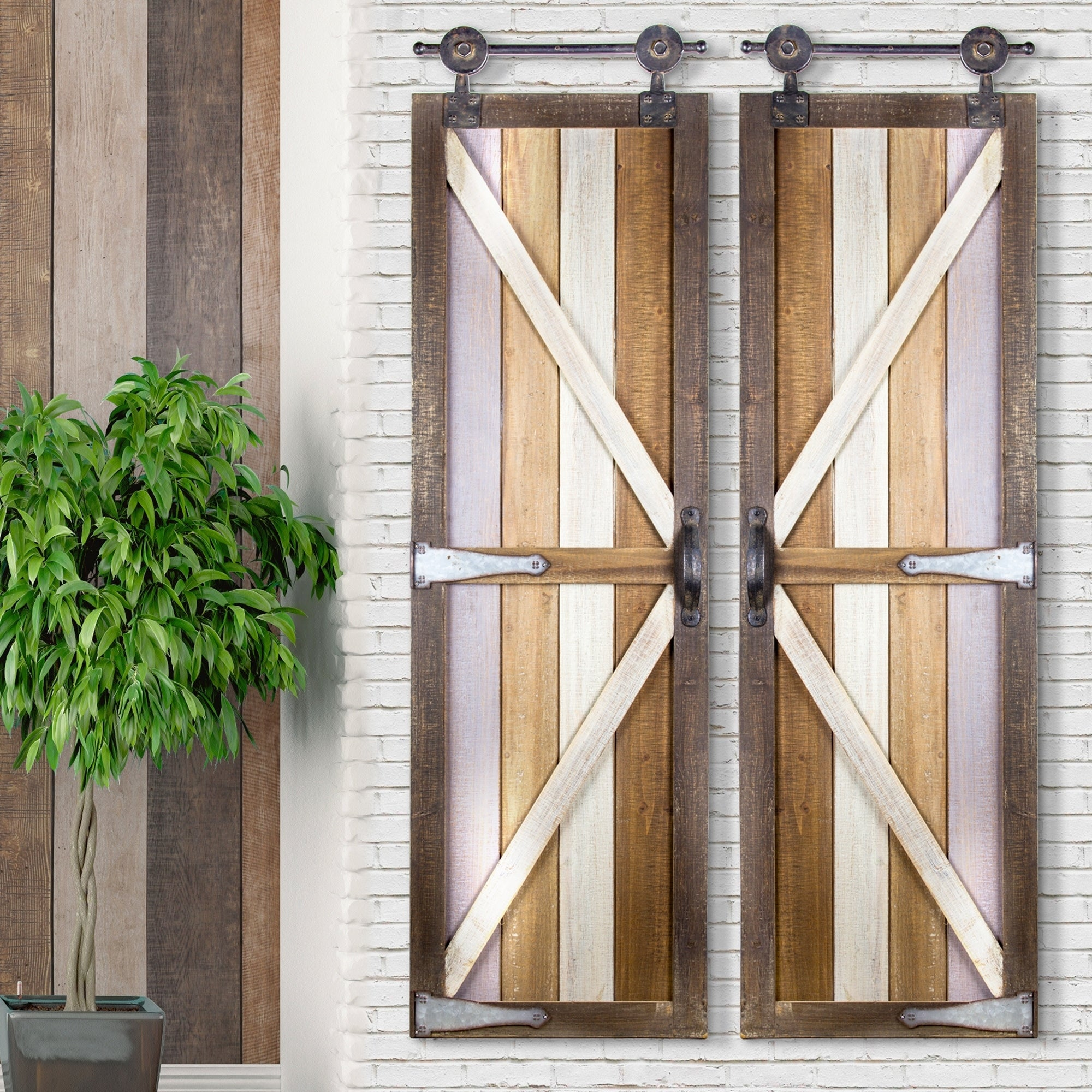 Wood And Metal Door Wall Decor Simple Wood And Metal Door Wall Decor  Wall Plate Design Ideas Design Ideas