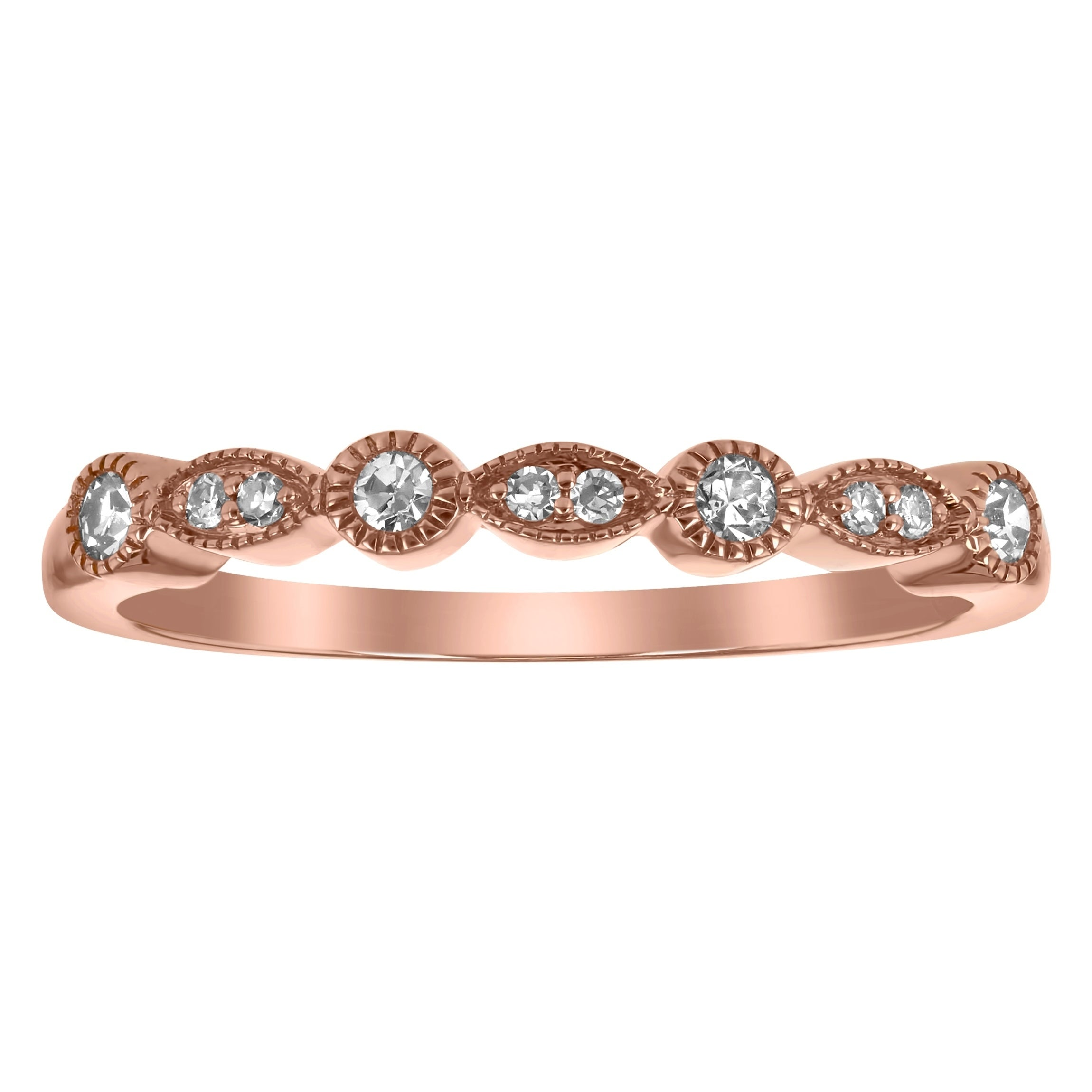 Shop 14k Rose Gold 1/3ct TDW Pear Morganite And Diamond Halo 3 Ring Wedding  Set   On Sale   Free Shipping Today   Overstock.com   18843865