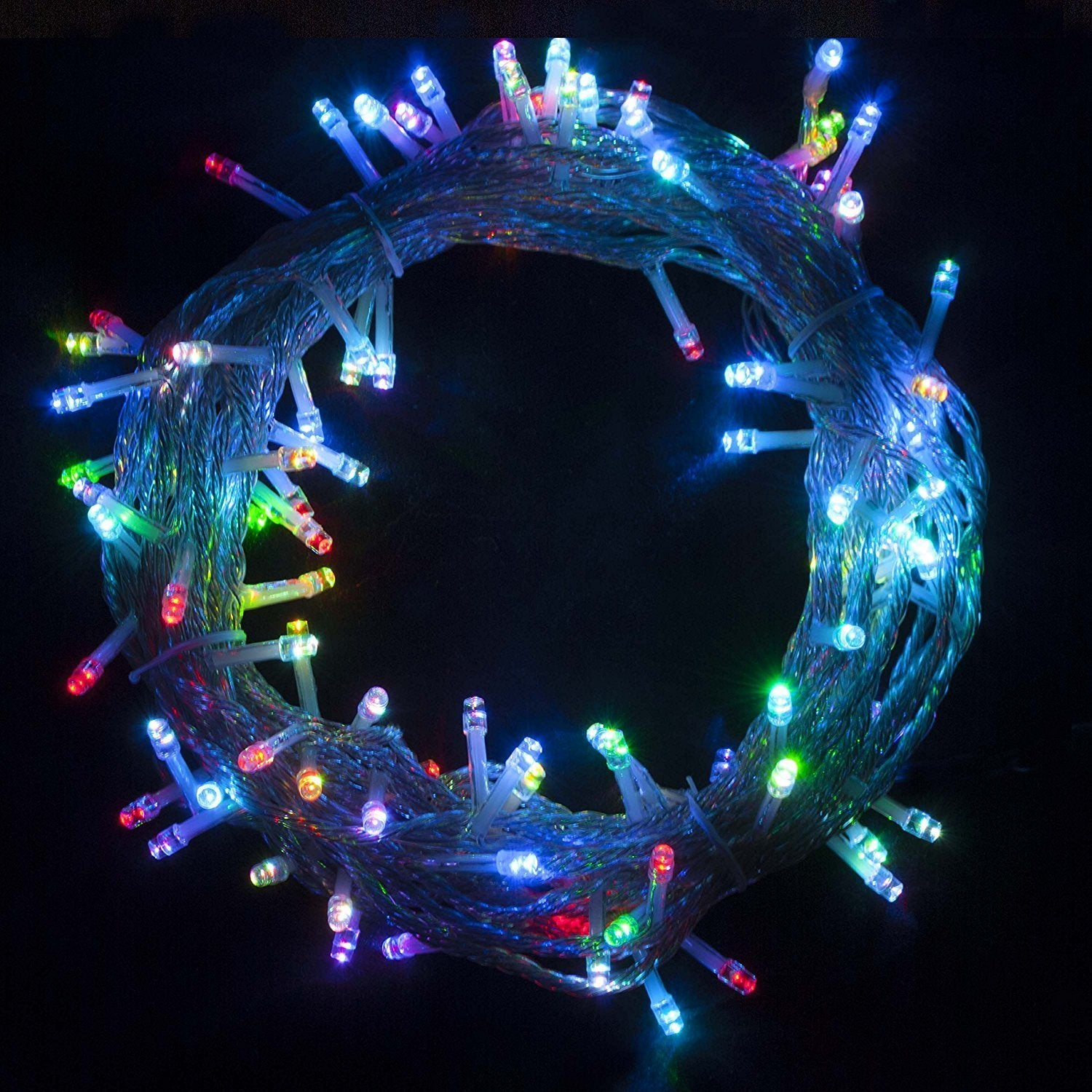 Shop Electric 100 LED Multicolor Extendable Christmas Holiday Light 34 Ft - On Sale - Free Shipping On Orders Over $45 - Overstock.com - 18843961