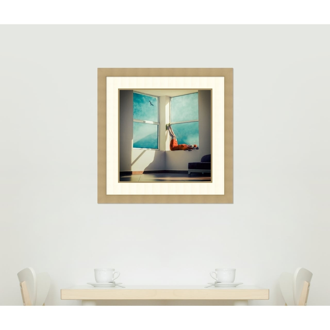 Framed Art Print \'Room With A View\' by Ambra 29 x 29-inch - Free ...
