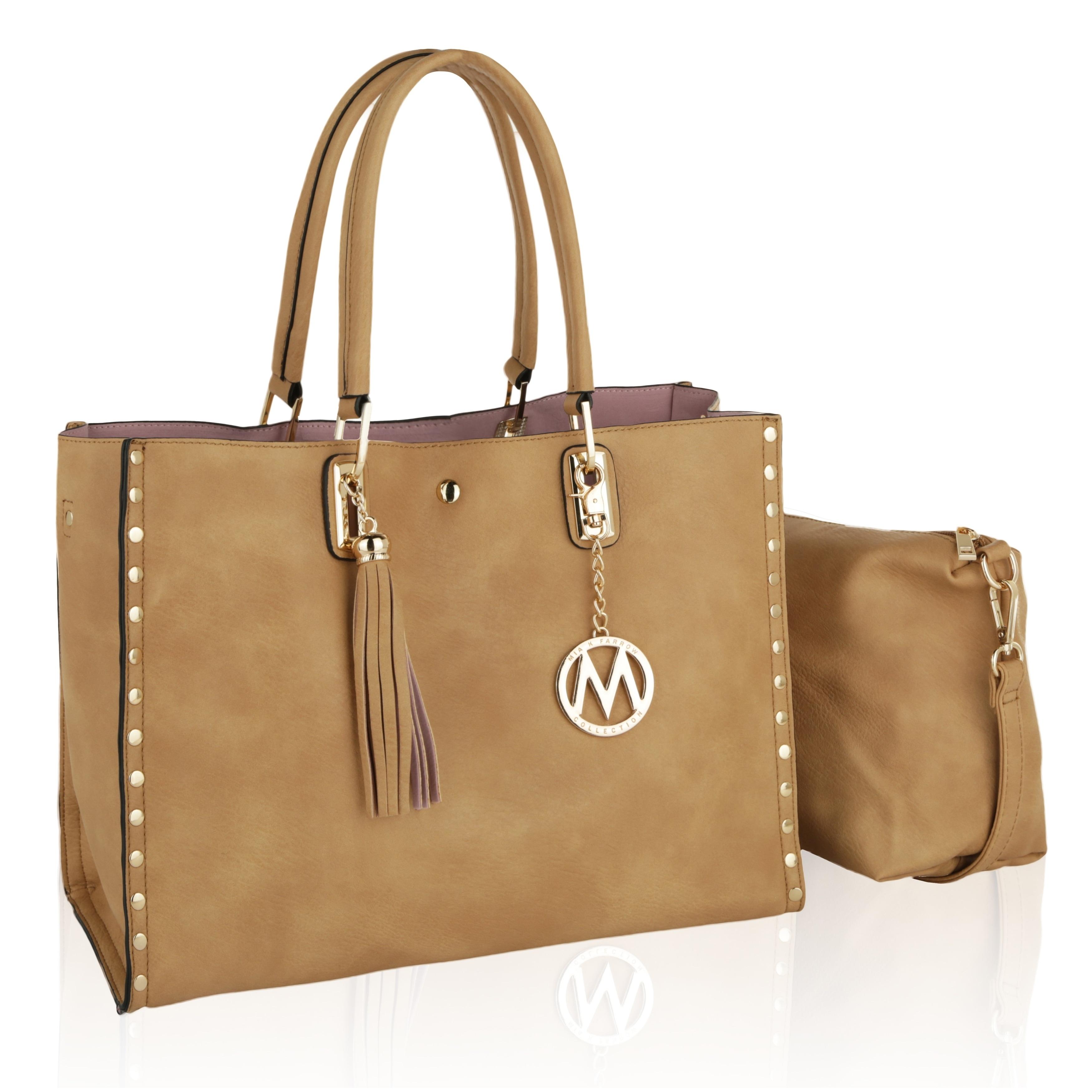 40d4ecc102bb Shop MKF Collection by Mia K Farrow Isa Satchel Handbag - On Sale - Free  Shipping Today - Overstock - 18849878