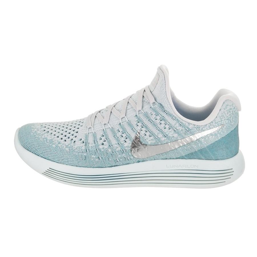 30611c96aae8b Shop Nike Women s Lunarepic Low Flyknit 2 Running Shoe - Free Shipping  Today - Overstock.com - 18849976