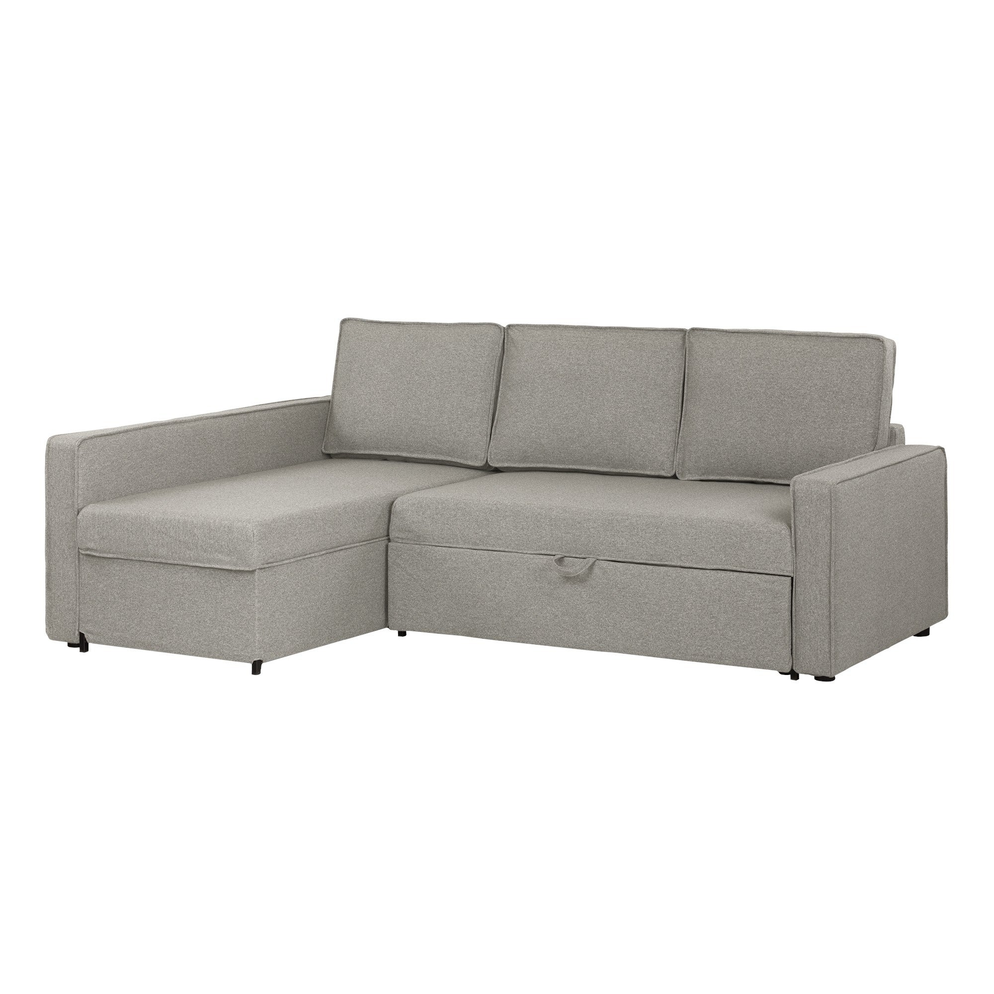 Shop South Shore Live It Cozy Sectional Sofa Bed With Storage Free
