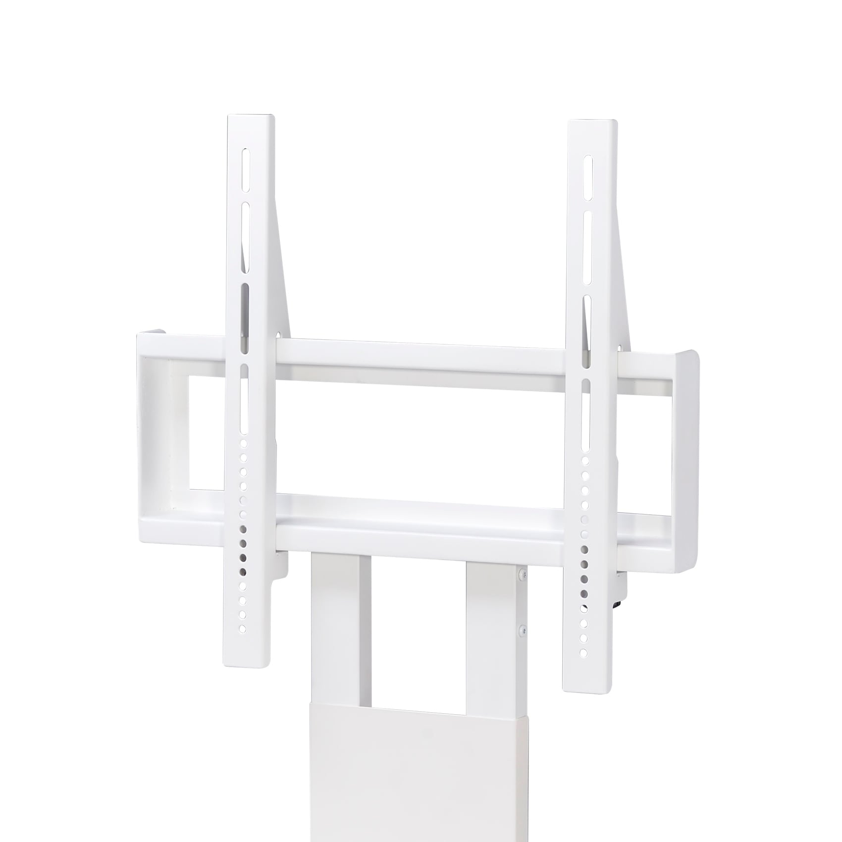 Shop Tv Stand With Mount In White Free Shipping Today Overstock