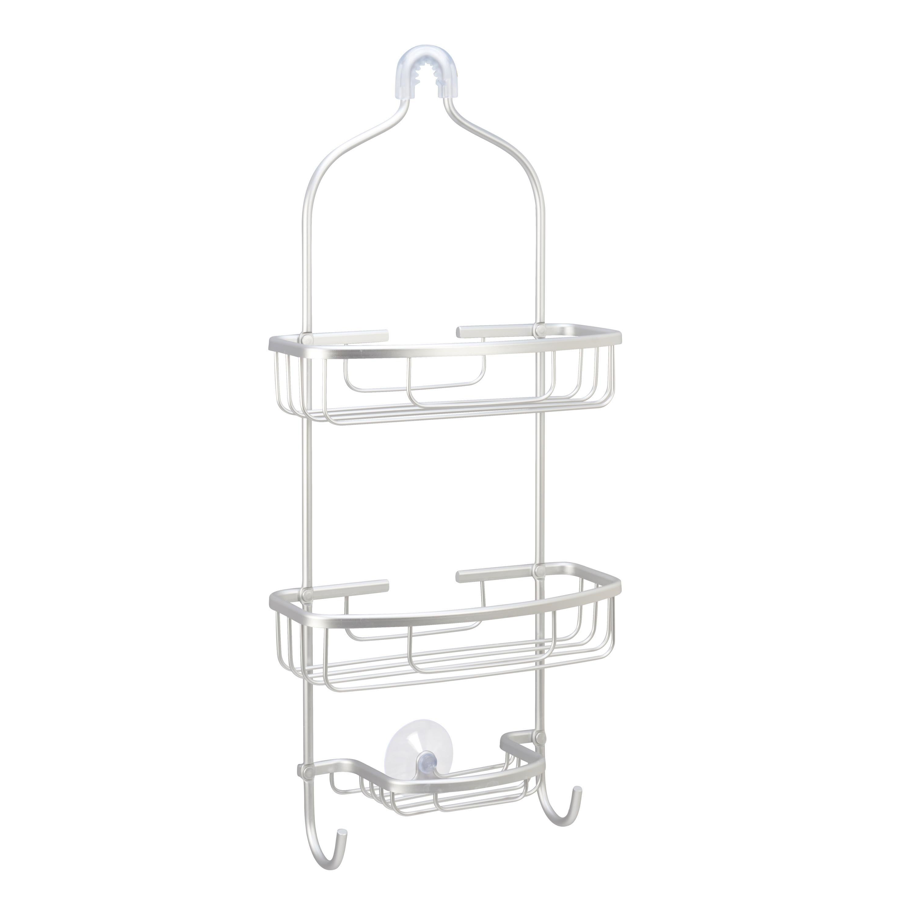 Silvertone 3-tier Wire Shower Caddy - Free Shipping On Orders Over ...