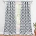 DriftAway Julianna Room Darkening Window Curtains, 2 Panels