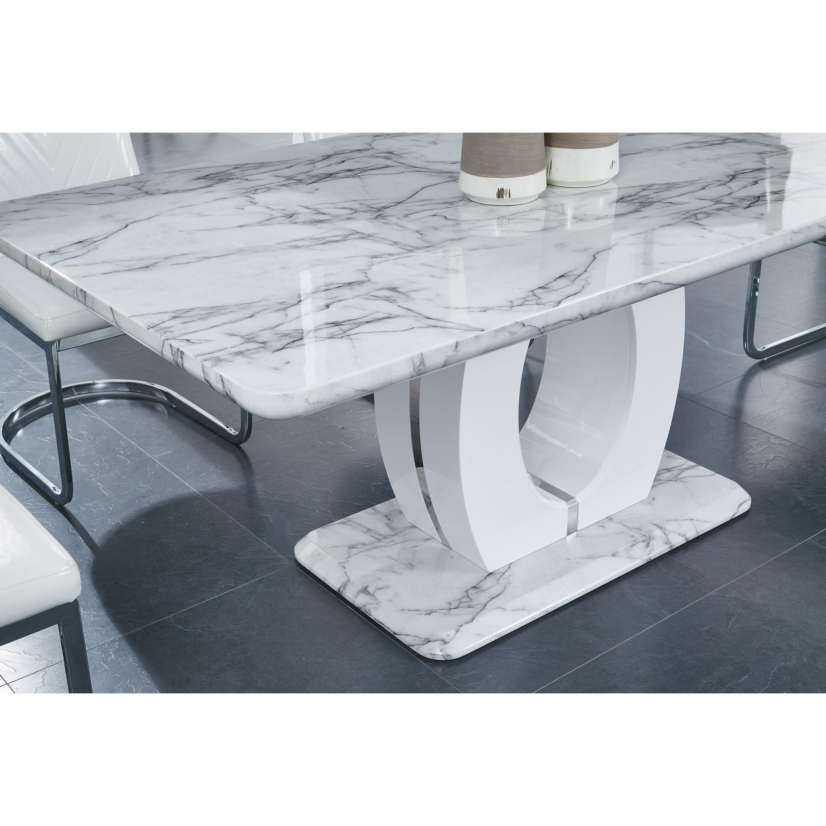 casablanca marble table coffee velvet teal safavieh gray and rug img elm topped blue couch december west pedestal