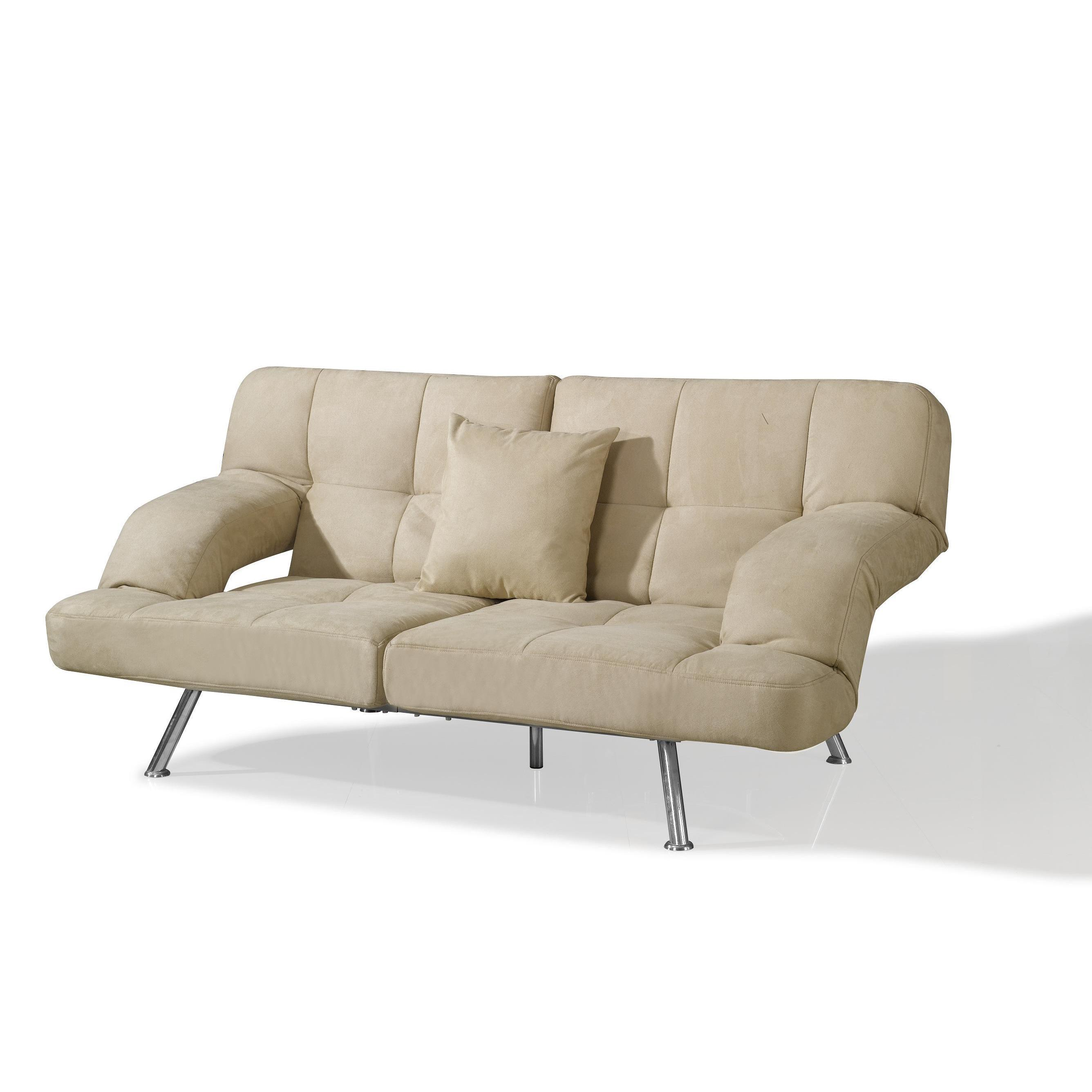 Chai Microsuede Sofa Bed Free Shipping Today 1907674