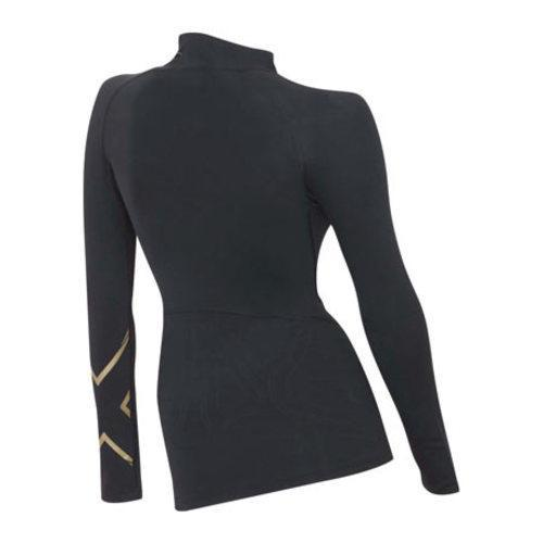 ea54d94cd6 ... Thumbnail Women's 2XU MCS Thermal Compression Top Black/Gold
