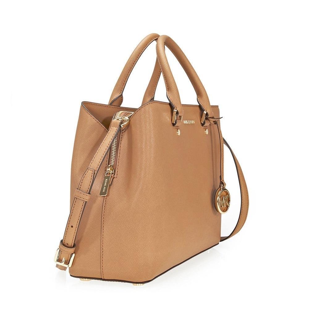 1d4c30814986 ... netherlands shop michael kors savannah large acorn satchel handbag free  shipping today overstock 19205545 dcca1 d9b01