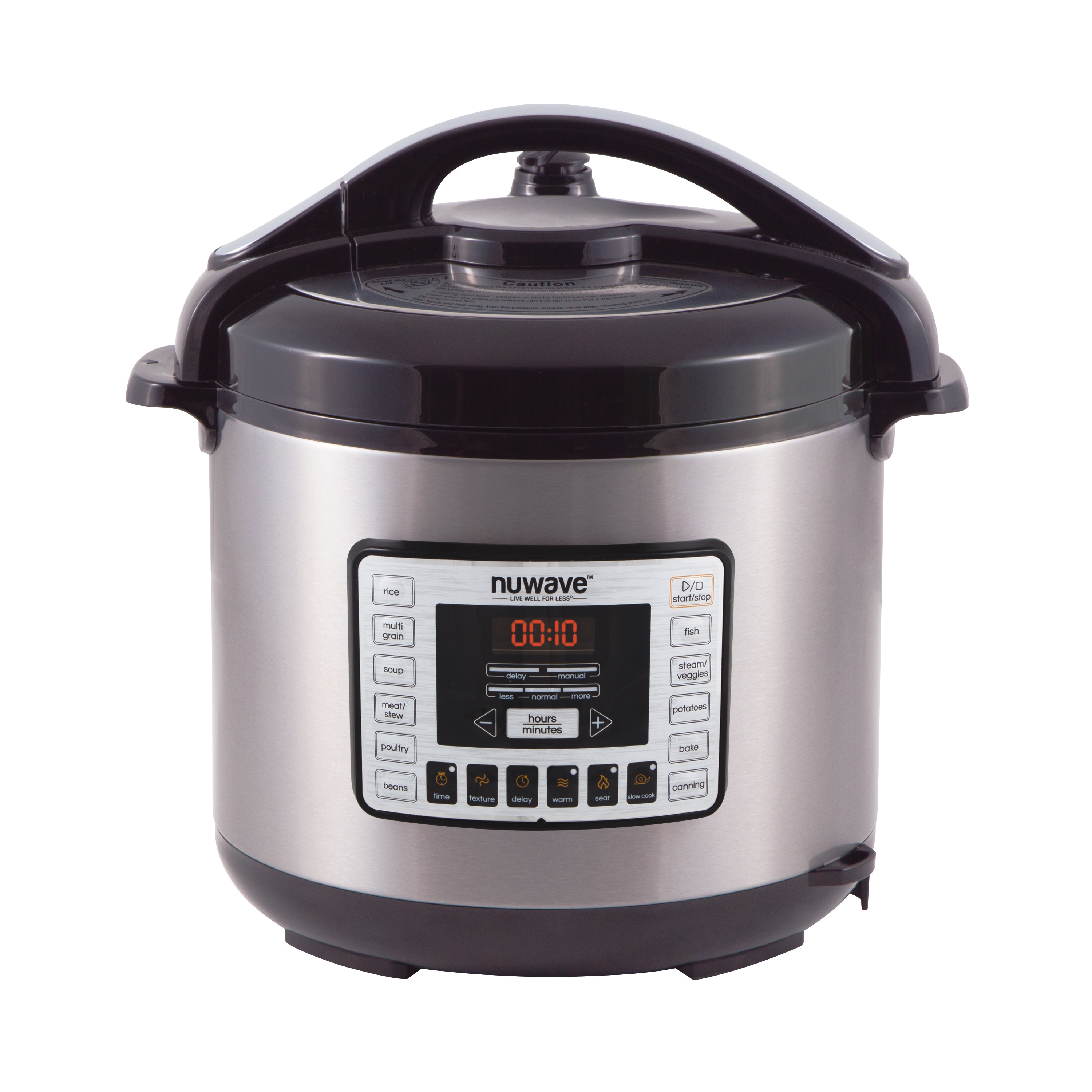 NuWave 33201 8 Qt Electric Pressure Cooker