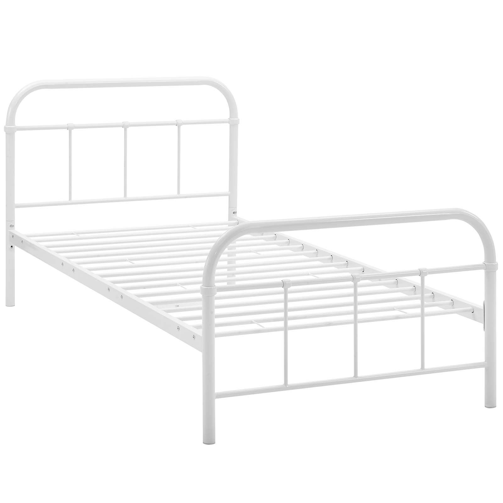 Shop Maisie Twin Stainless Steel Bed Frame - Free Shipping Today ...