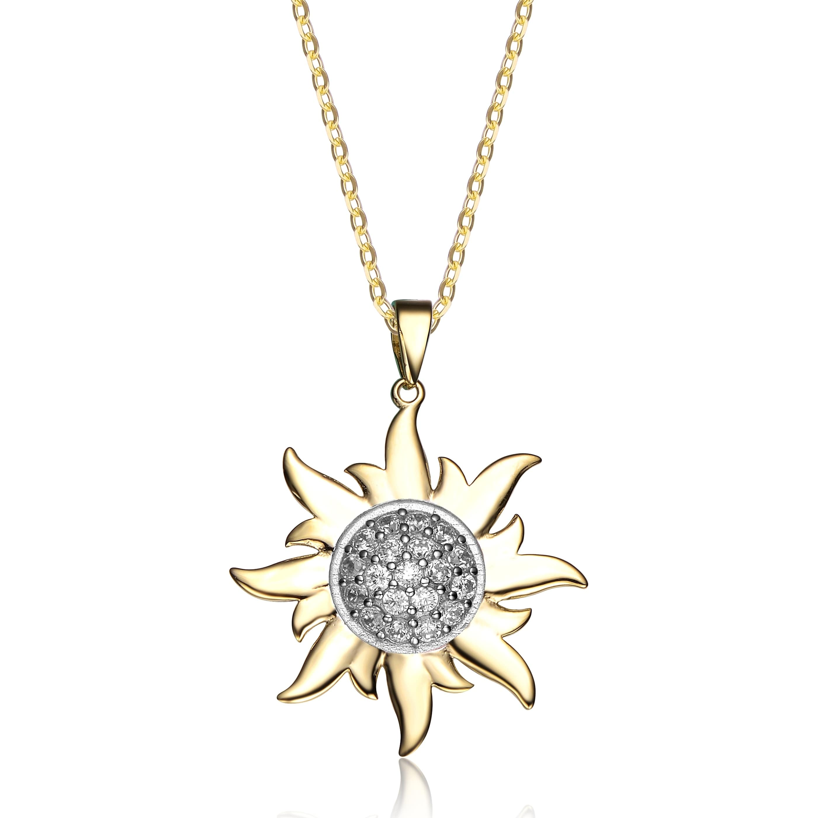 chopard diamond enlarged necklaces white products necklace pendant happy gold sun jewelry fine diamonds