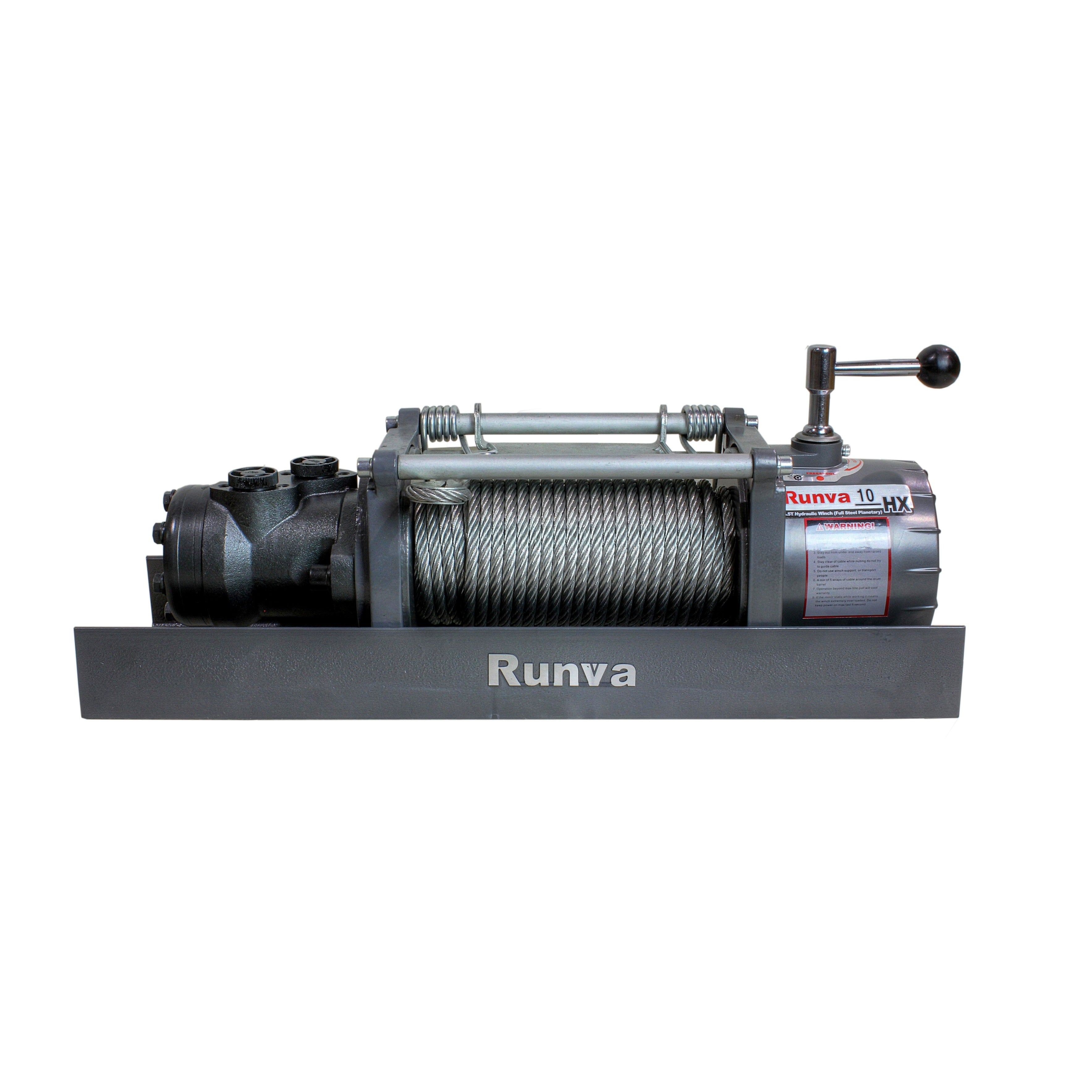 Shop 10000lb Runva Hydraulic Towing Recovery Winch Kit - Free ...