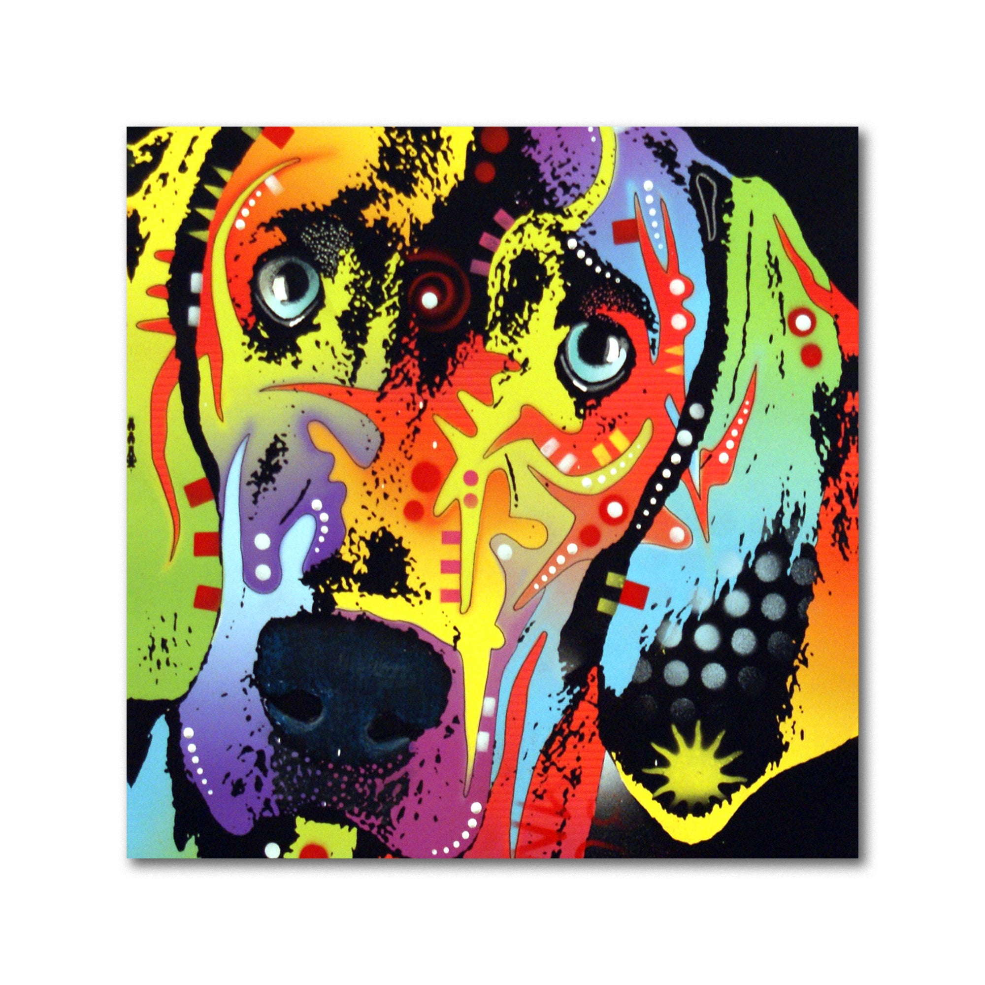 Shop Dean Russo \'Weimaraner\' Metal Art - On Sale - Free Shipping On ...