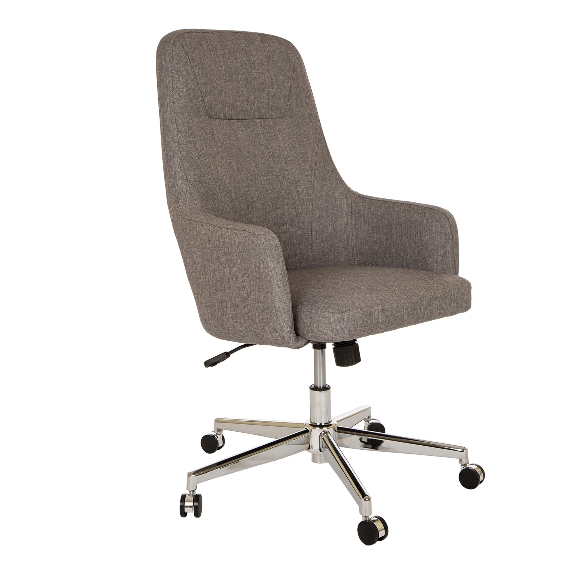 shop glitzhome mid-century modern adjustable office chair - on sale