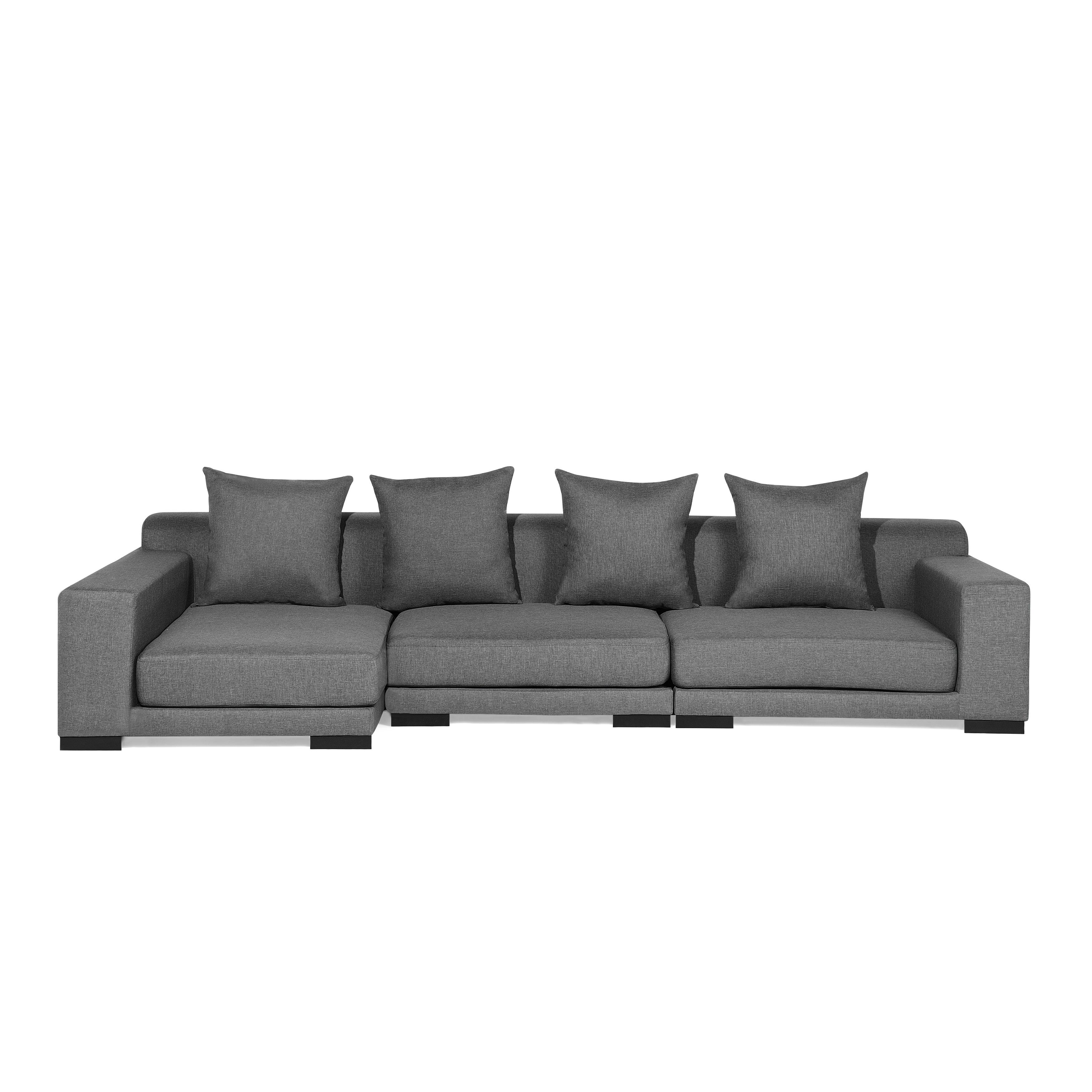 Shop Modular Sectional Sofa   Gray Fabric R CLOUD   Free Shipping Today    Overstock.com   19220433