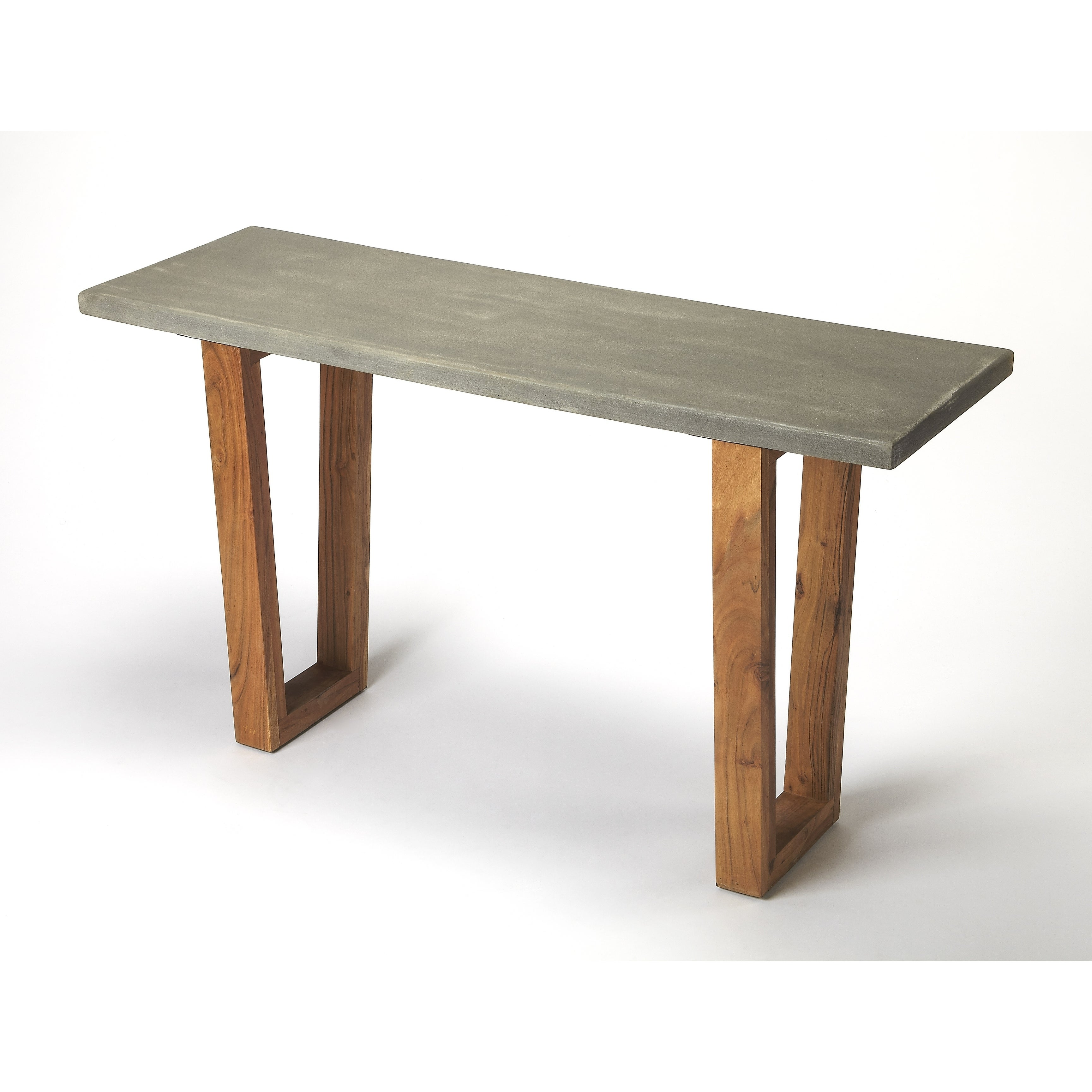 concrete and wood furniture. Butler Massey Concrete \u0026 Wood Console Table - Free Shipping Today Overstock 25249422 And Furniture