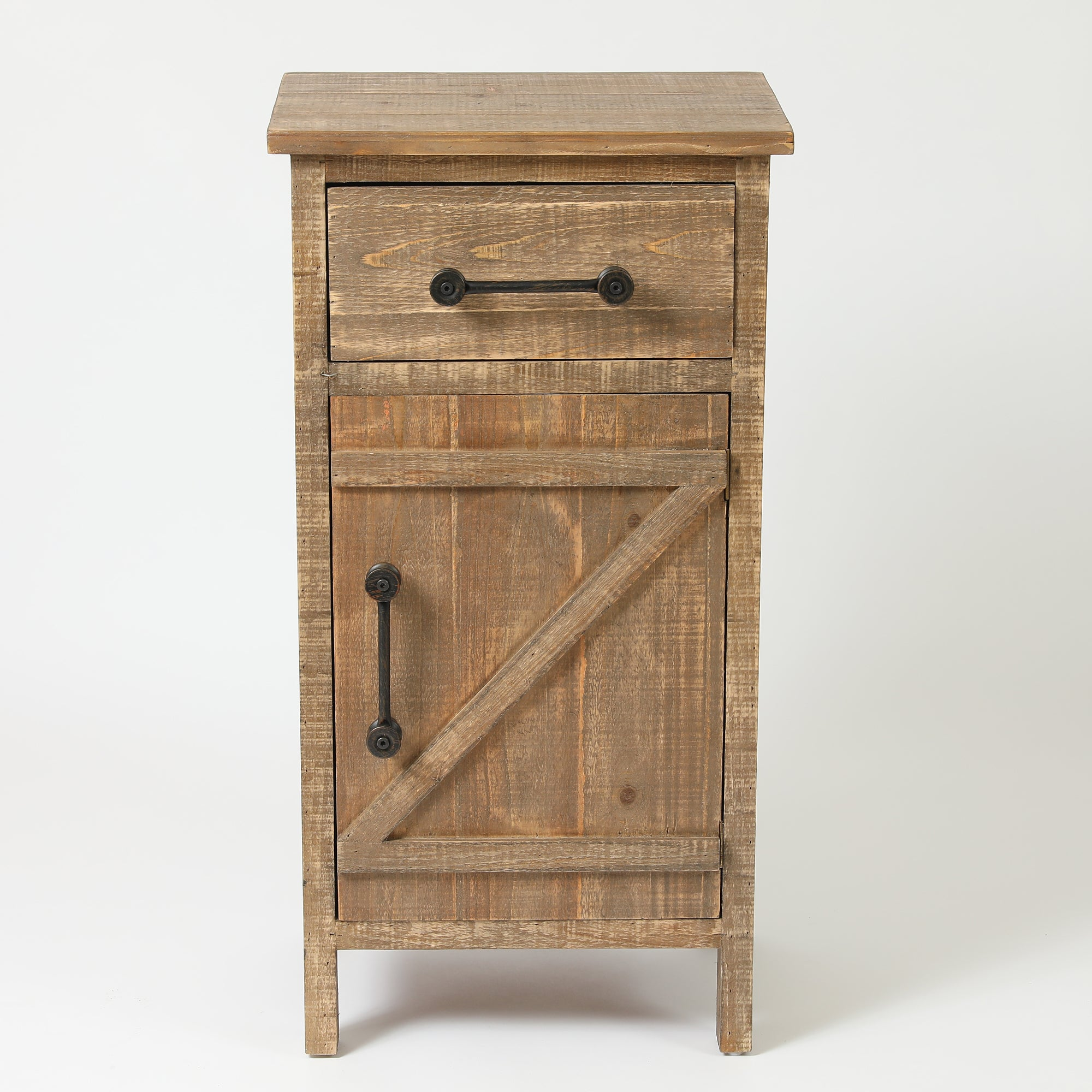 Merveilleux Shop Brown Wood Distressed Small Rustic Console Cabinet   On Sale   Free  Shipping Today   Overstock.com   19224257